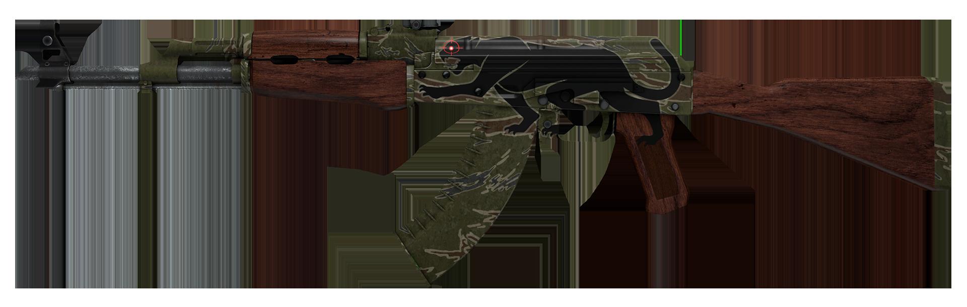 AK-47 Jaguar Large Rendering