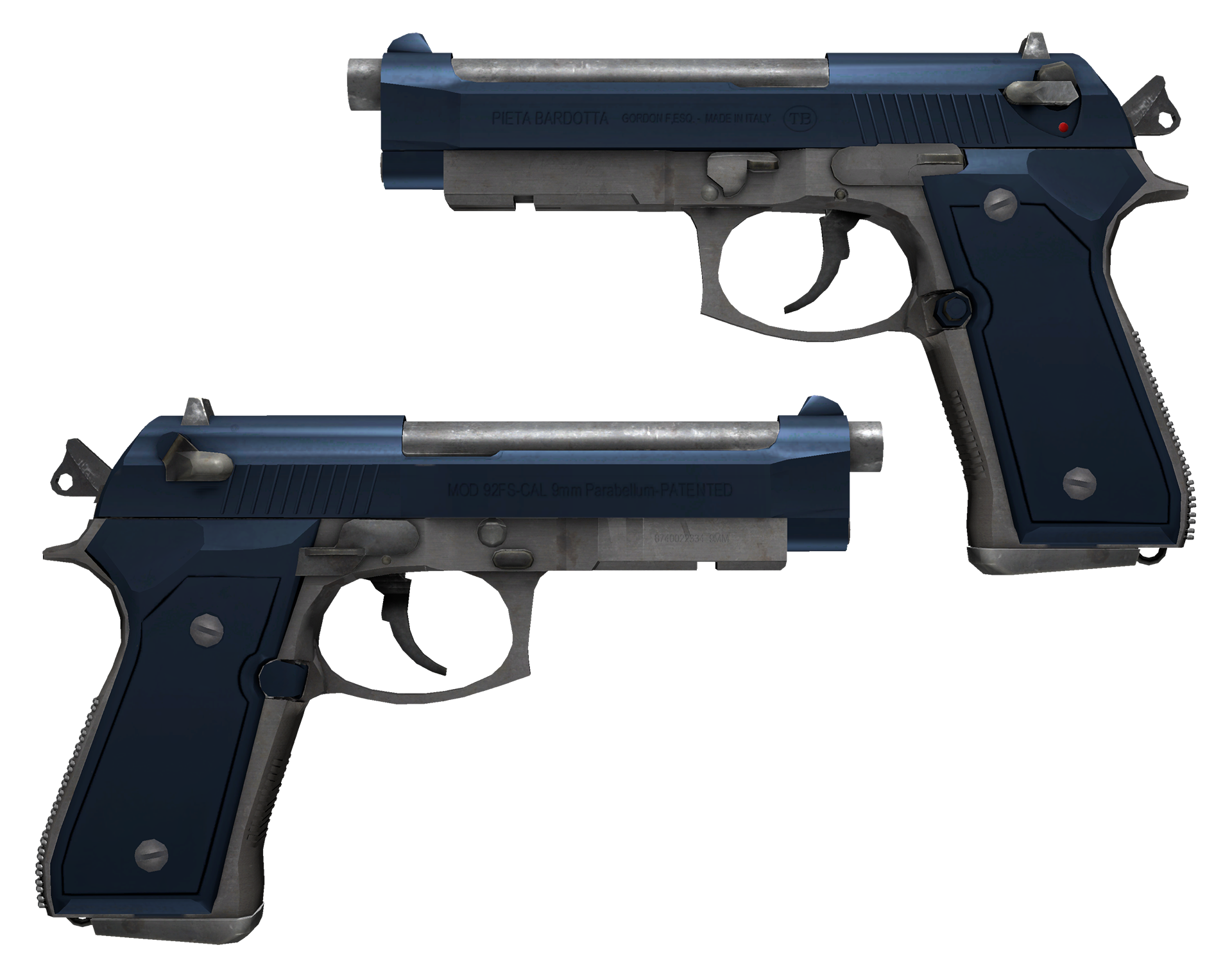 Dual Berettas Anodized Navy Large Rendering