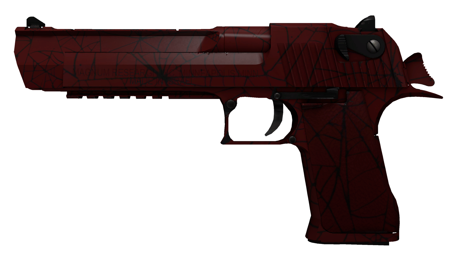 Desert Eagle Crimson Web Large Rendering