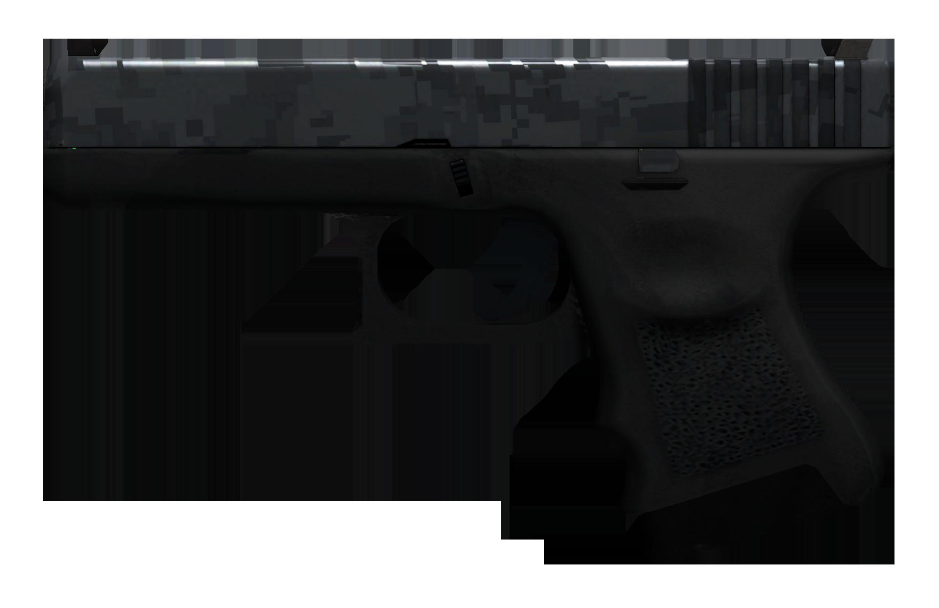 Glock-18 Steel Disruption Large Rendering