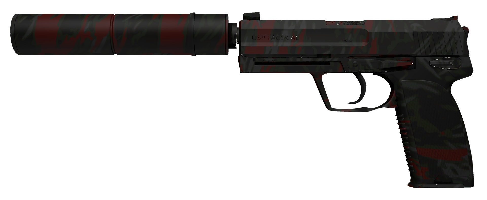 USP-S Blood Tiger Large Rendering