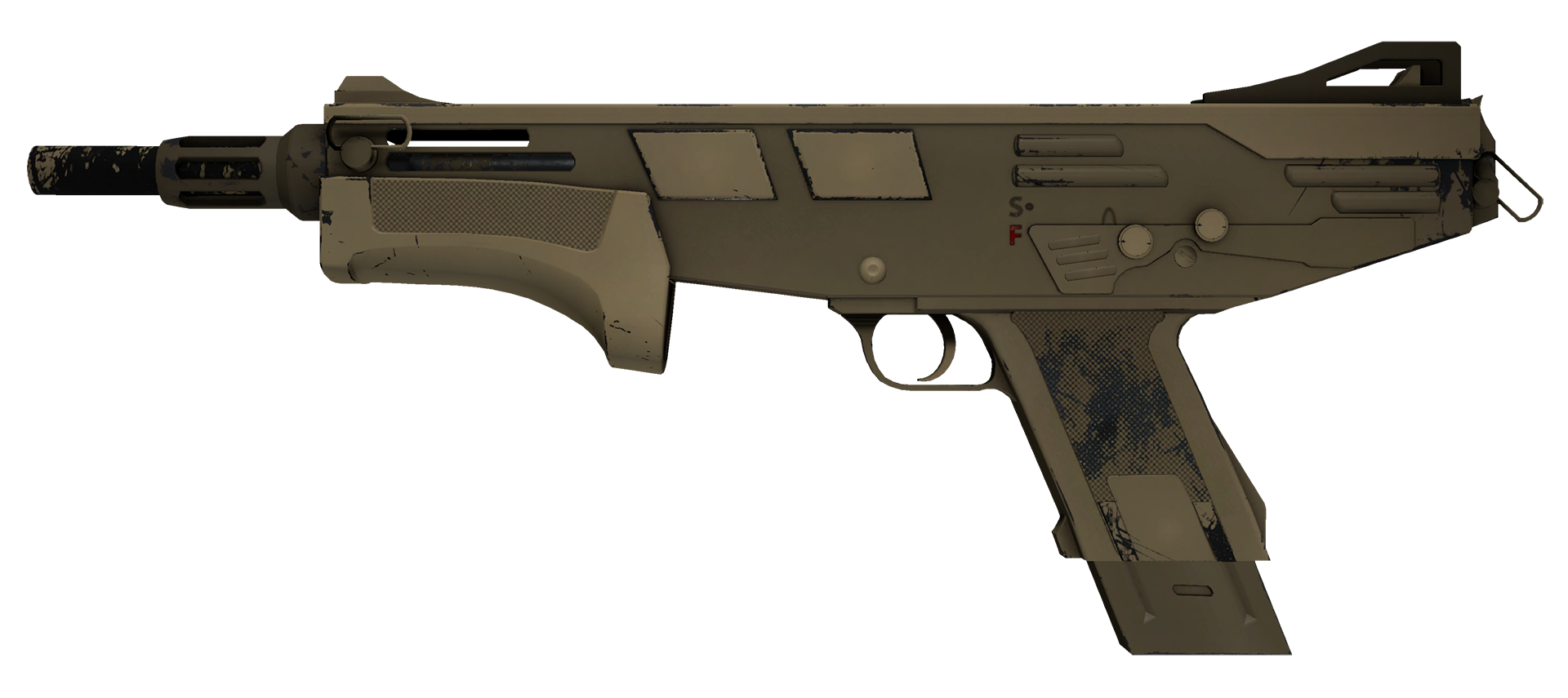 MAG-7 Sand Dune Large Rendering