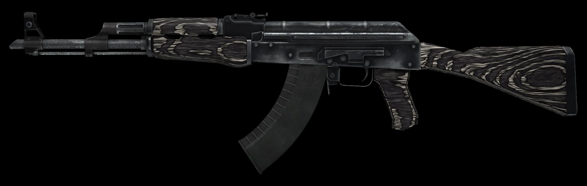 AK-47 Black Laminate Large Rendering