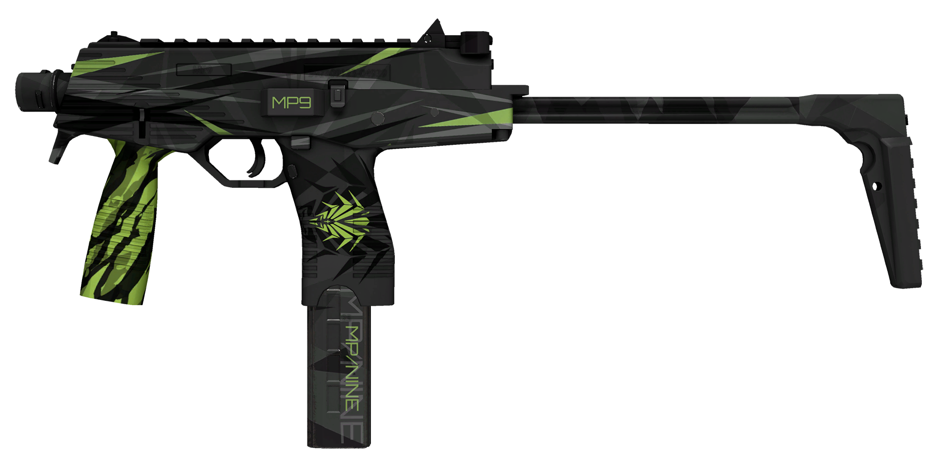 MP9 Deadly Poison Large Rendering