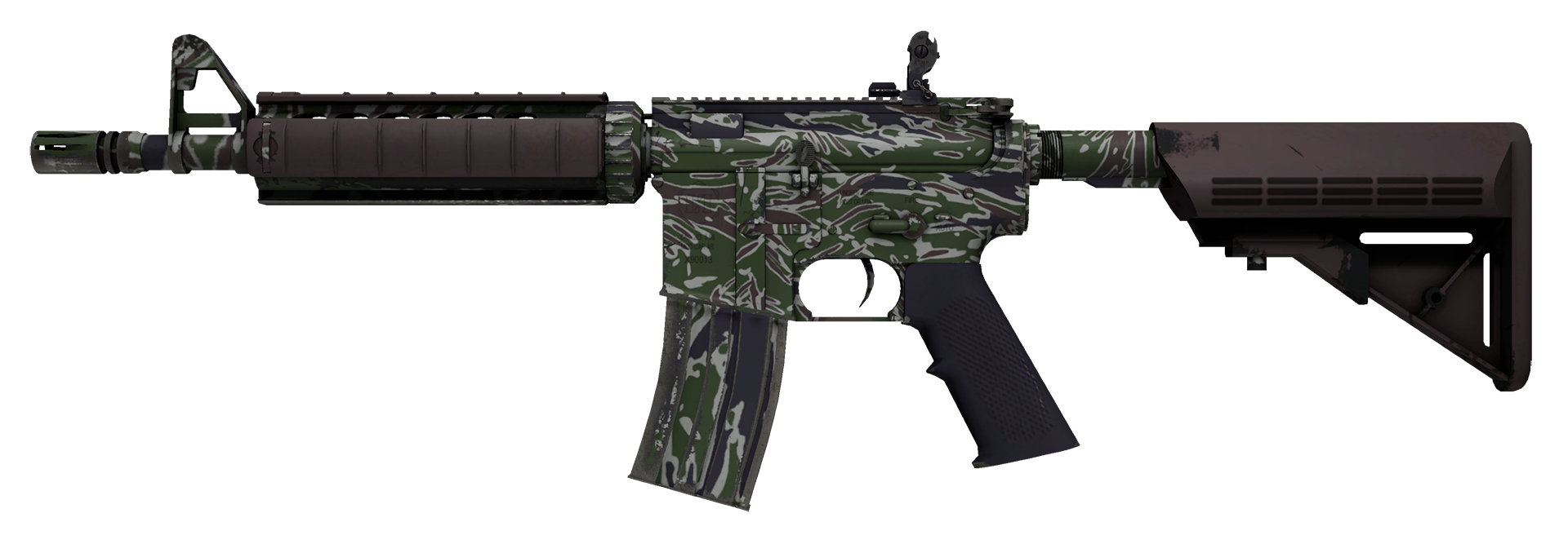 M4A4 Jungle Tiger Large Rendering