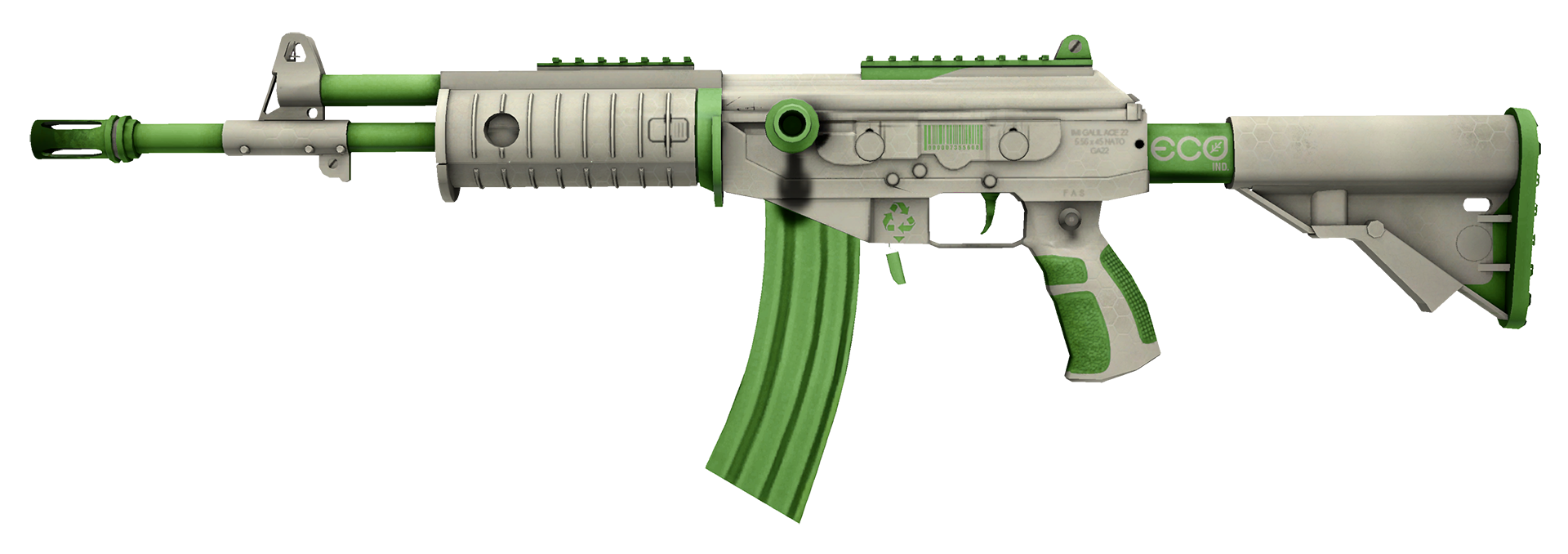 Galil AR Eco Large Rendering