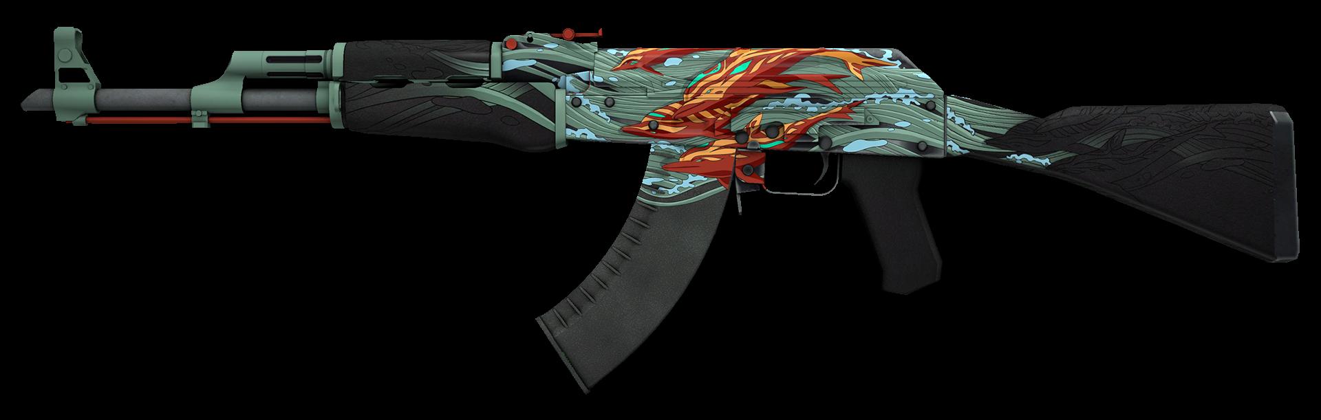 AK-47 Aquamarine Revenge Large Rendering