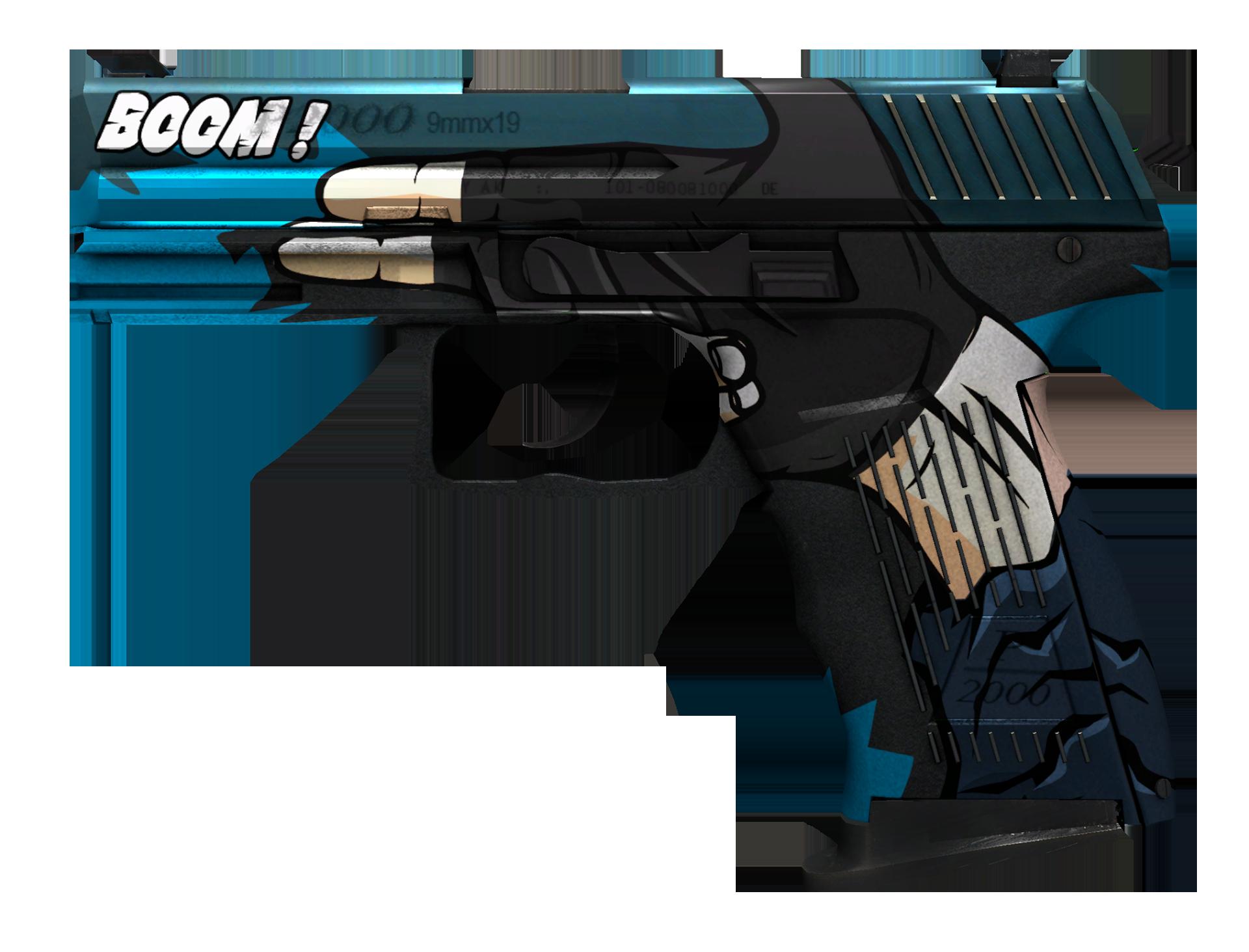 P2000 Handgun Large Rendering