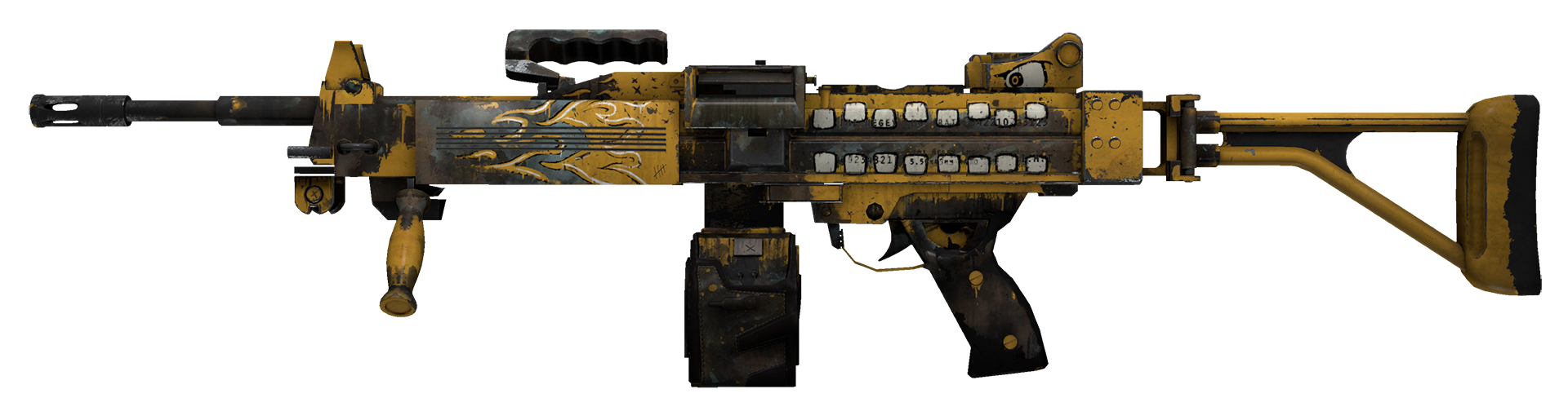 Negev Loudmouth Large Rendering