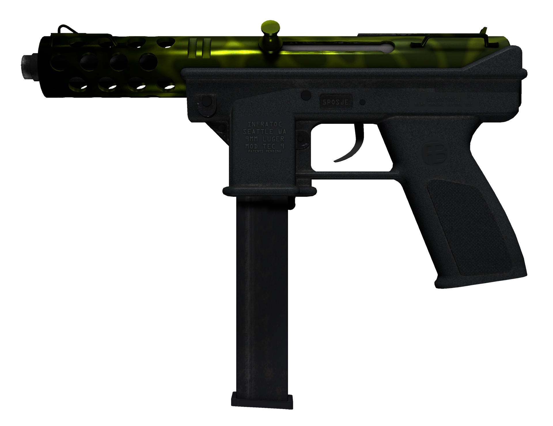 Tec-9 Ossified Large Rendering