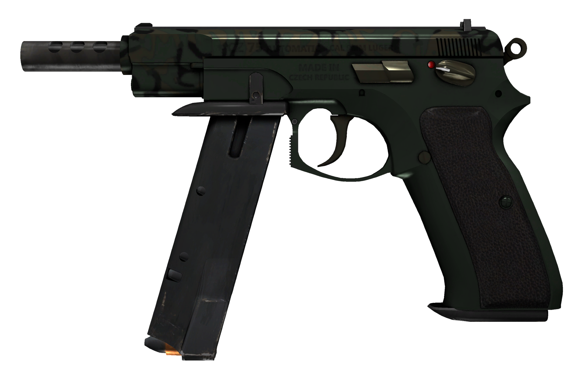 CZ75-Auto Army Sheen Large Rendering