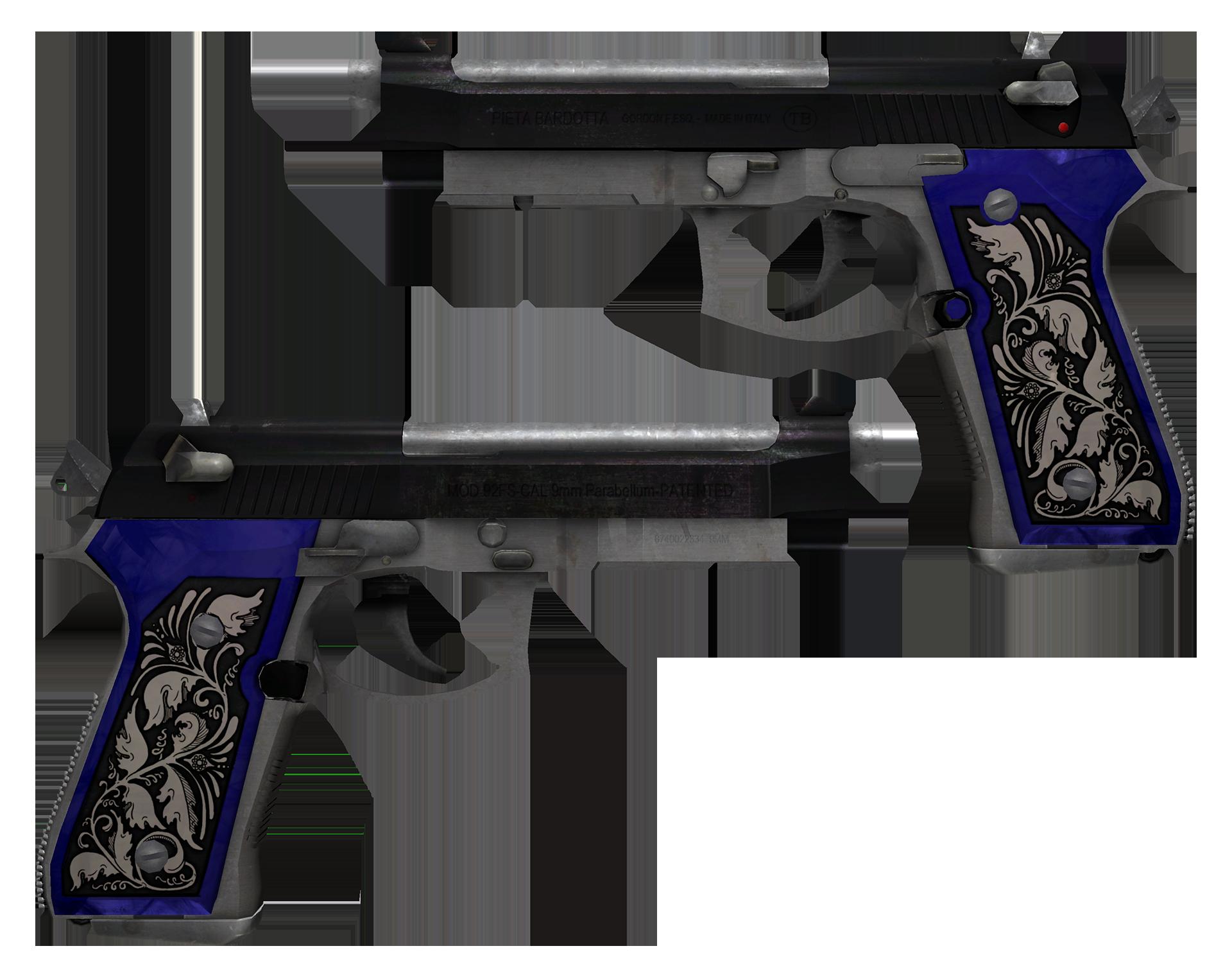 Dual Berettas Duelist Large Rendering