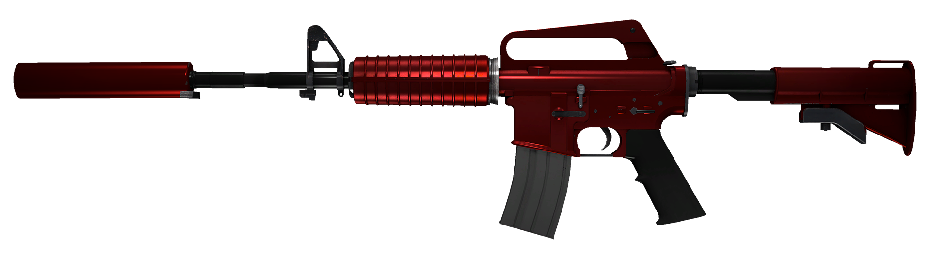 M4A1-S Hot Rod Large Rendering