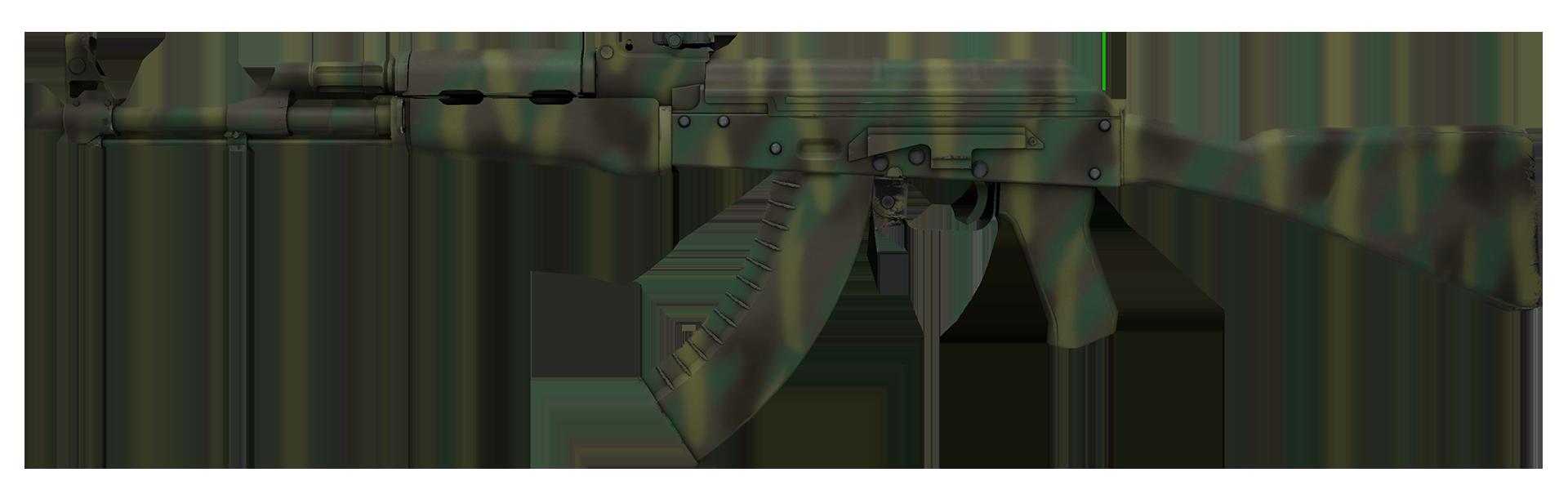AK-47 Jungle Spray Large Rendering