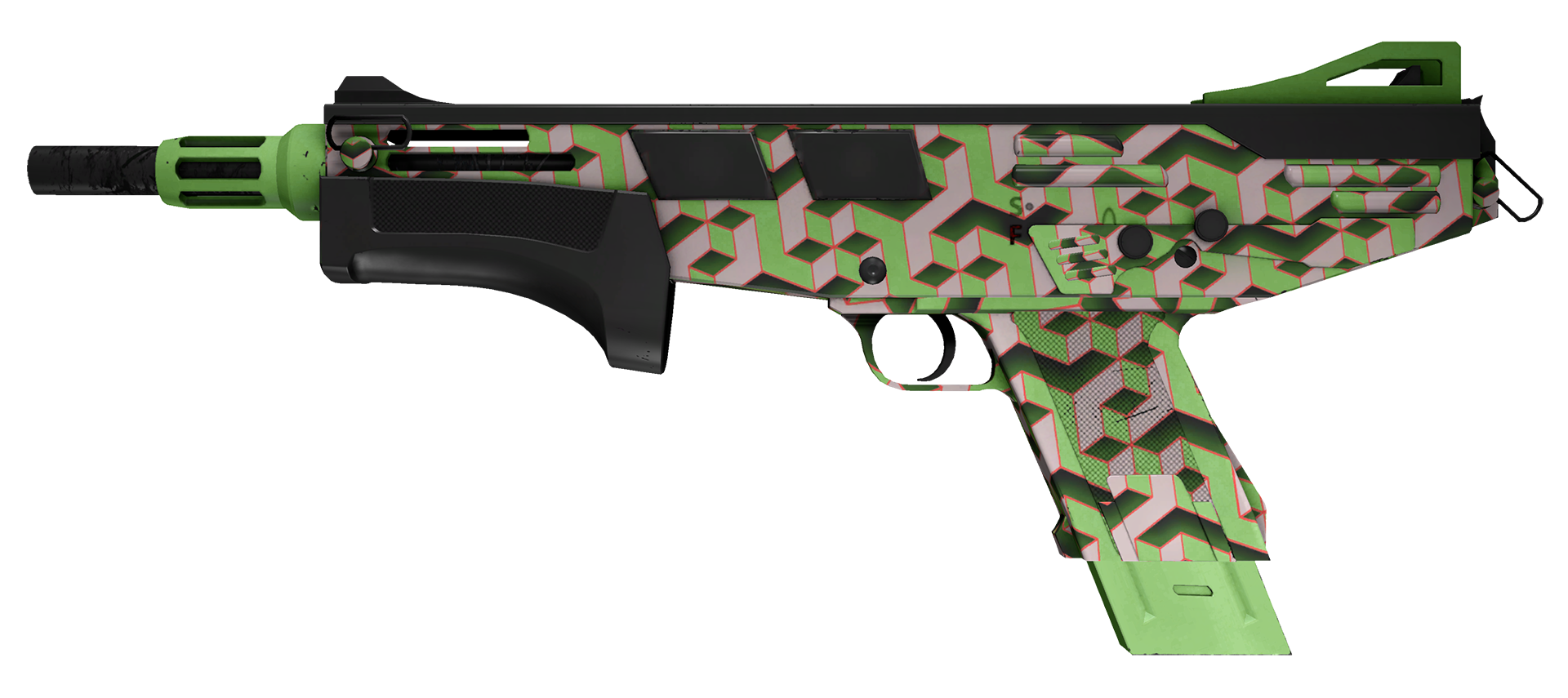 MAG-7 Counter Terrace Large Rendering