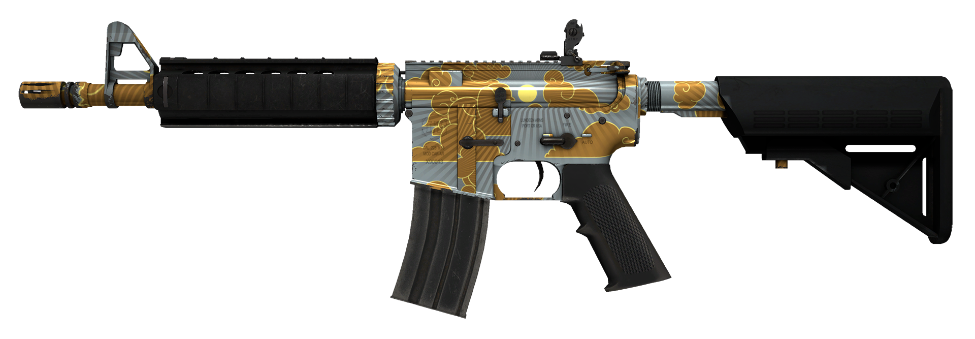M4A4 Daybreak Large Rendering