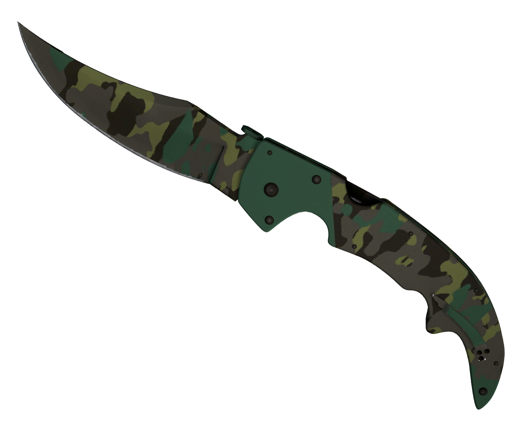 Falchion Knife Boreal Forest Large Rendering