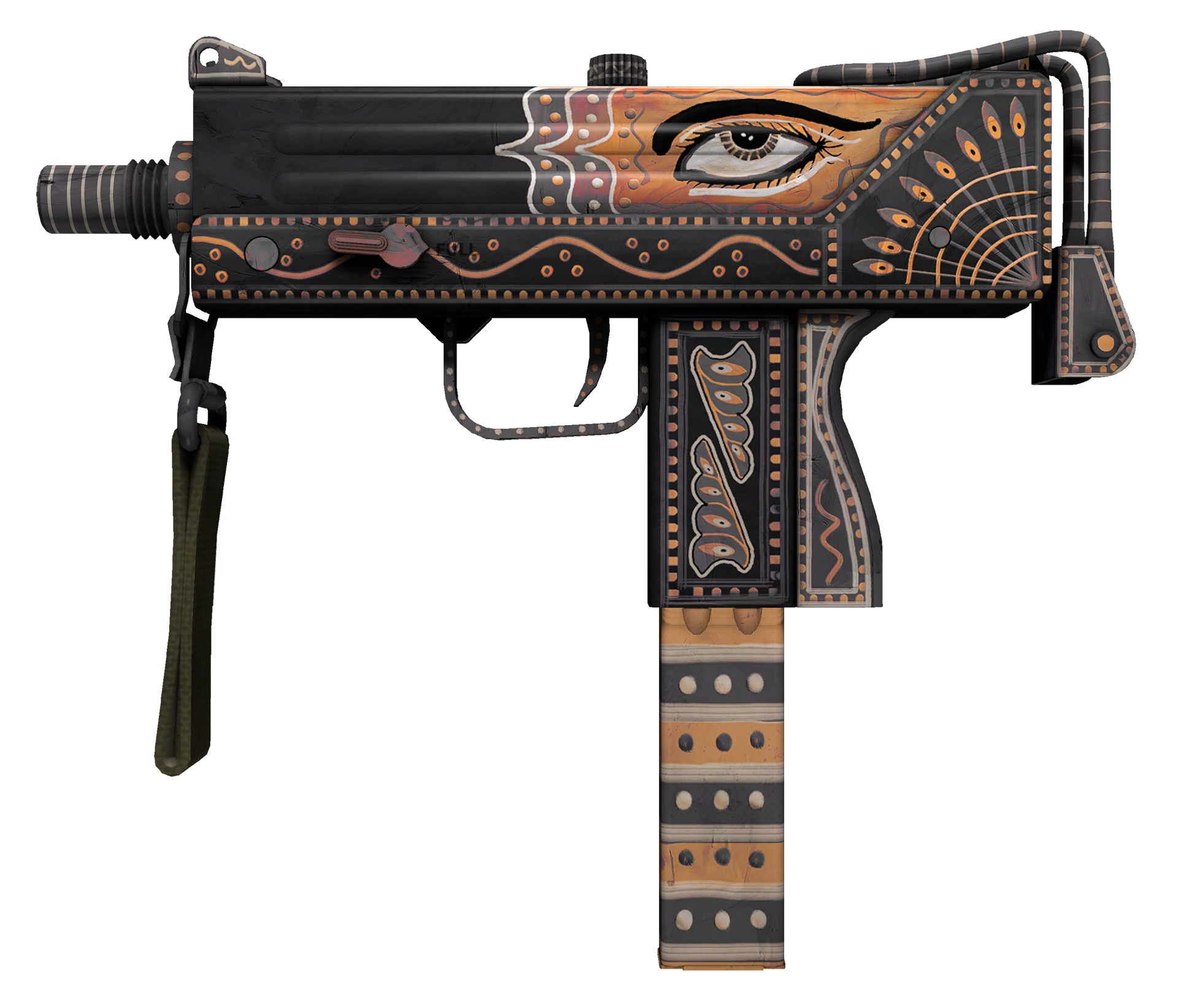 MAC-10 Rangeen Large Rendering