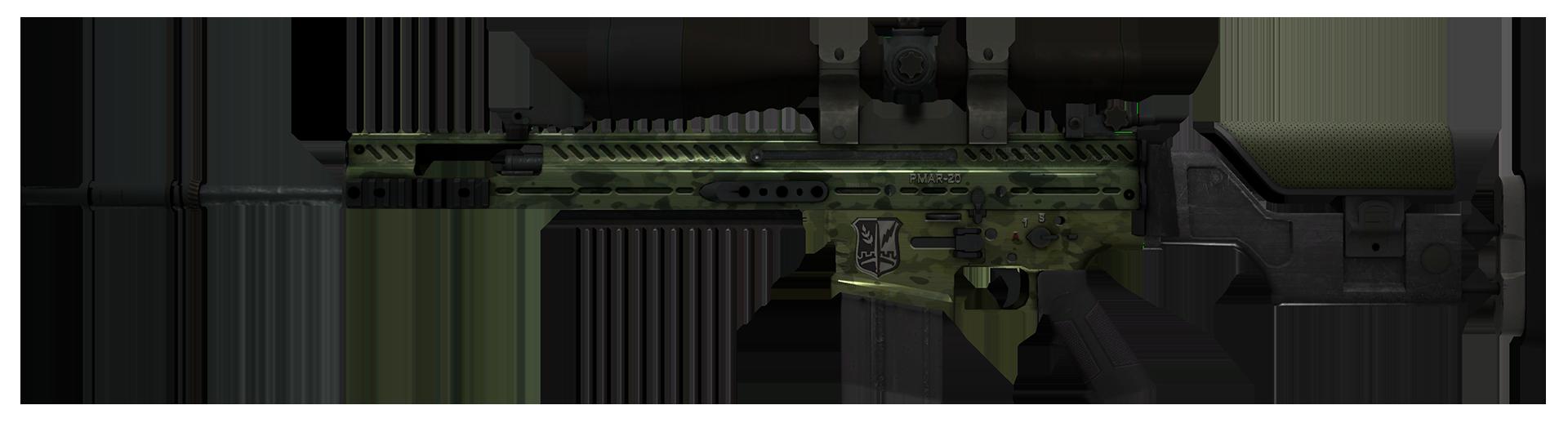 SCAR-20 Green Marine Large Rendering