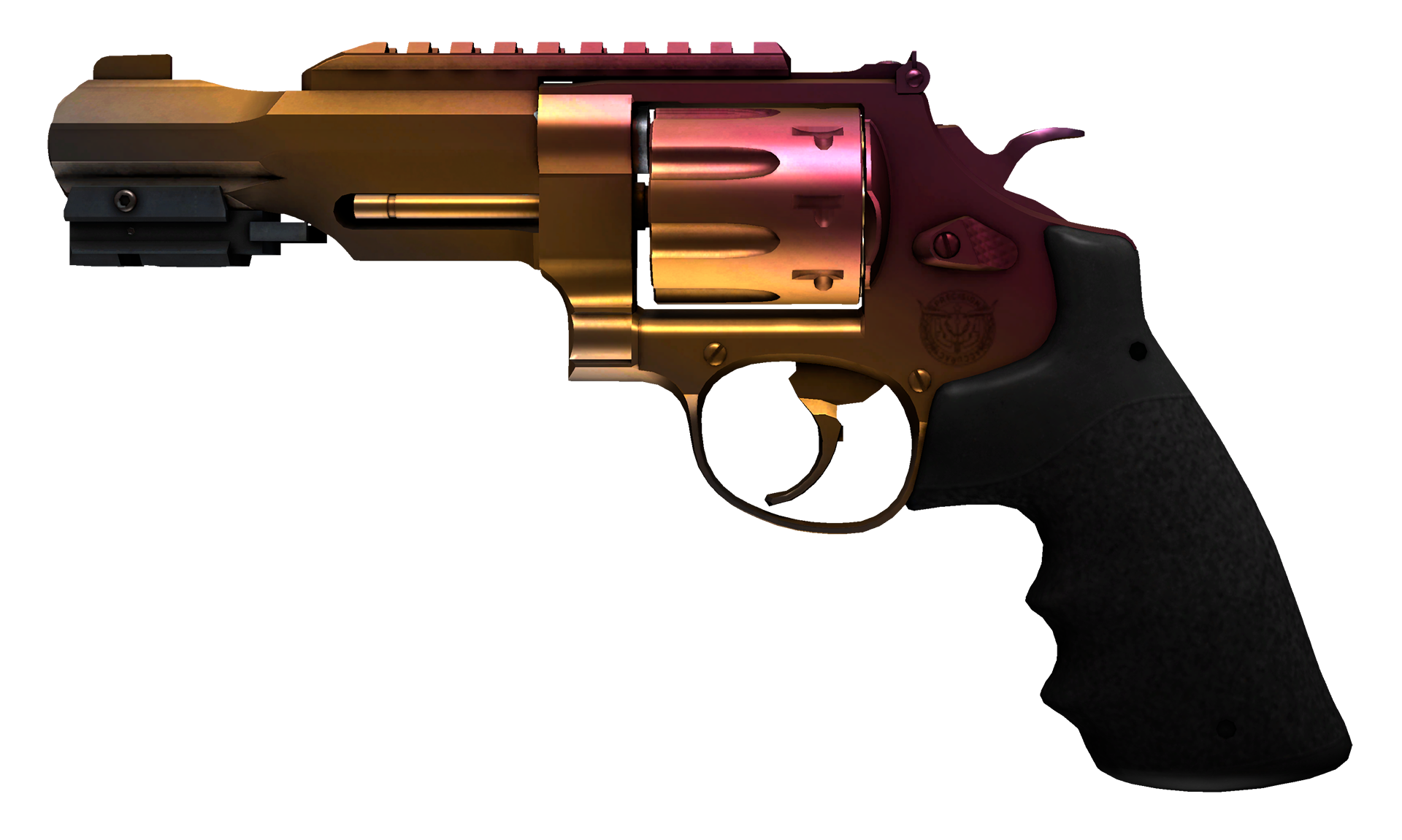 R8 Revolver Fade Large Rendering