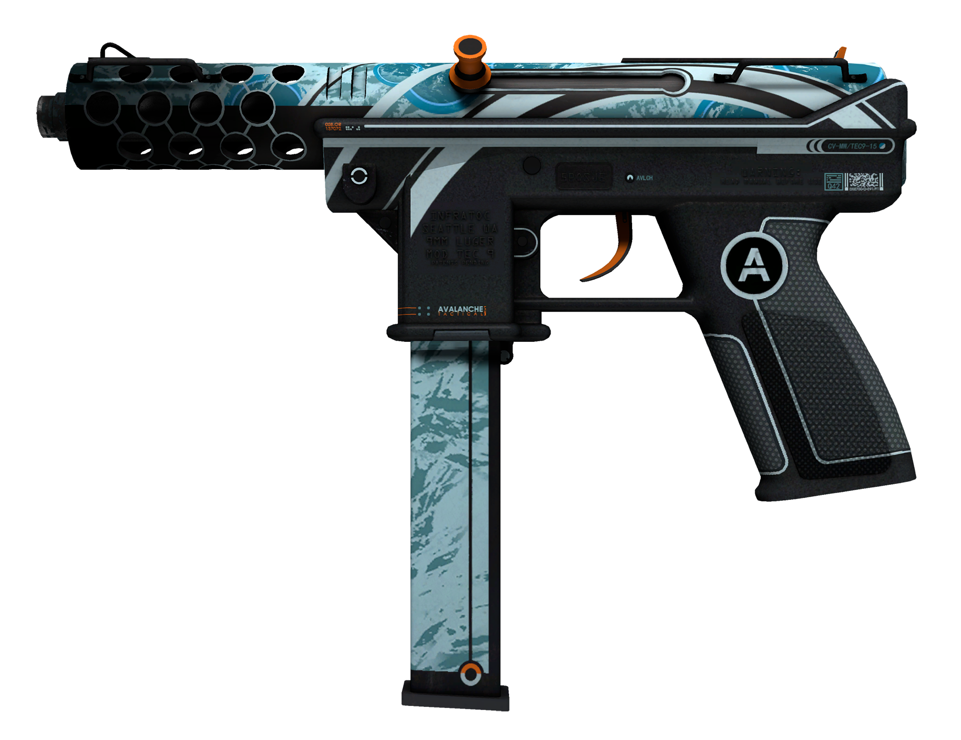 Tec-9 Avalanche Large Rendering