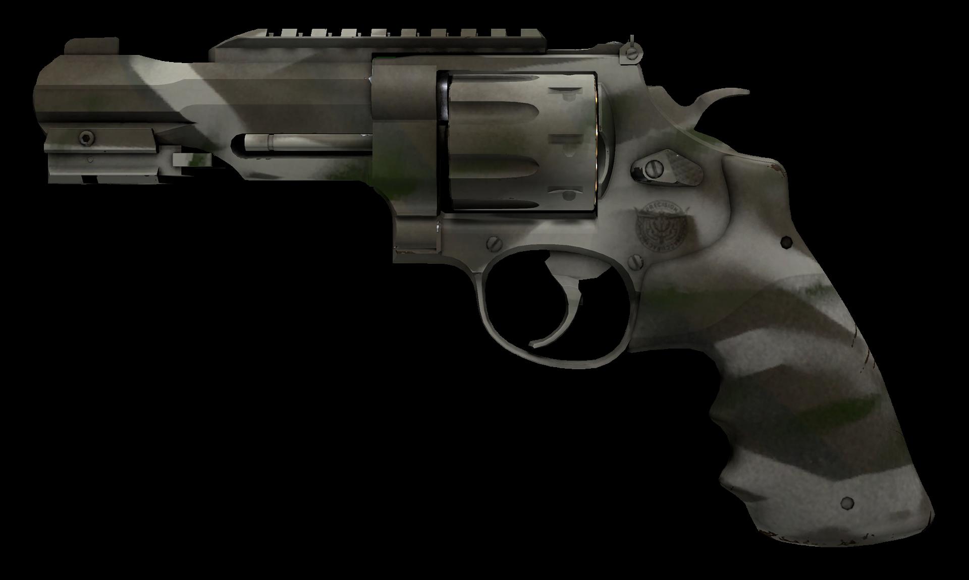 R8 Revolver Bone Mask Large Rendering