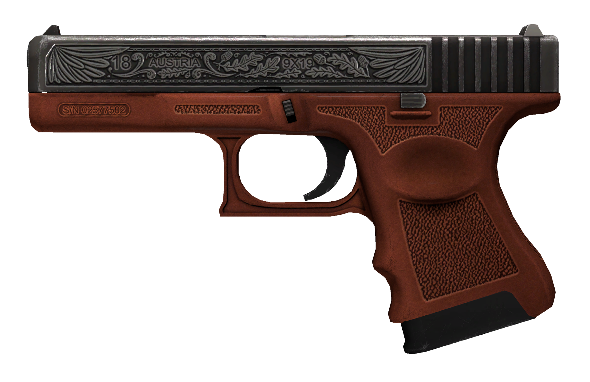Glock-18 Royal Legion Large Rendering
