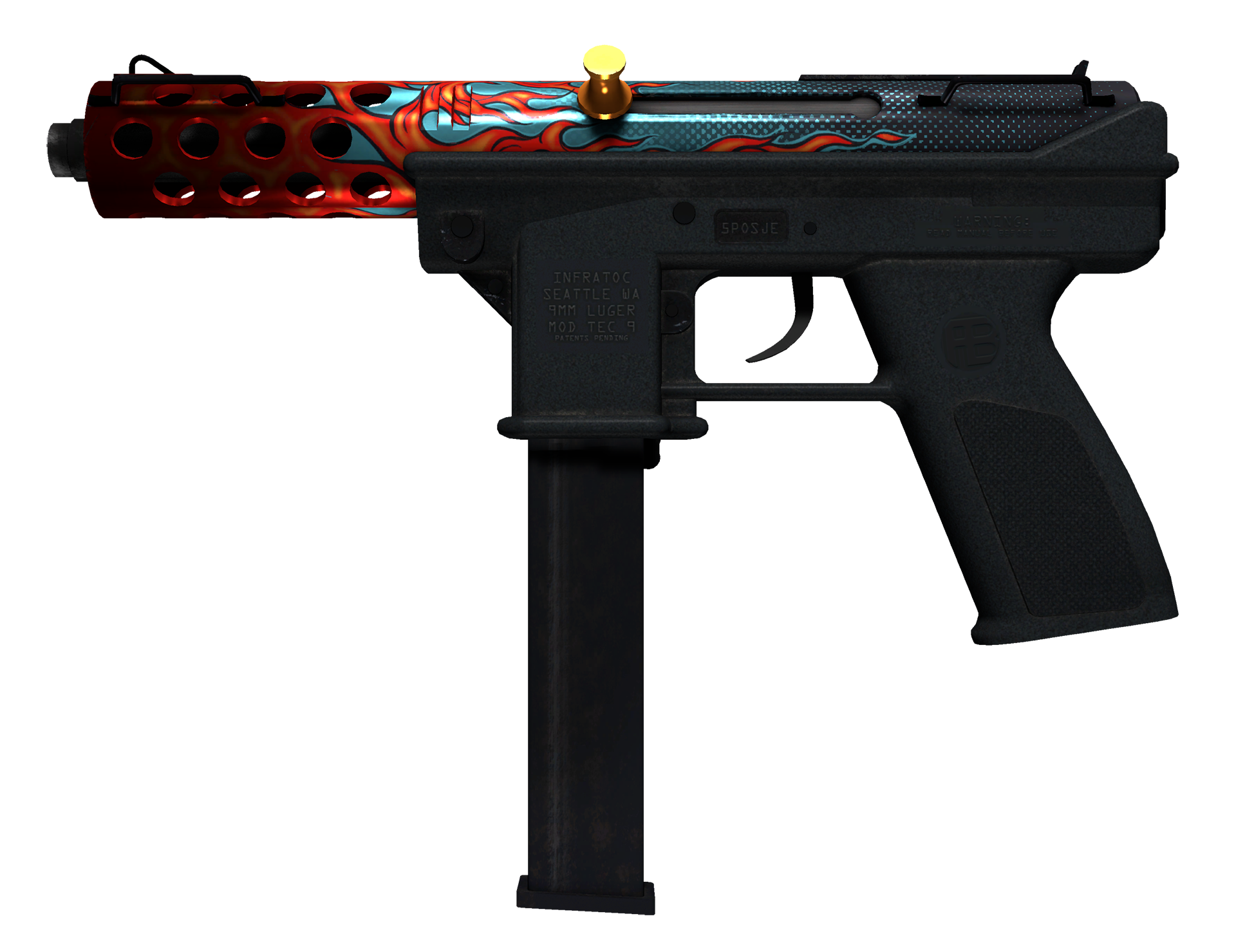 Tec-9 Re-Entry Large Rendering