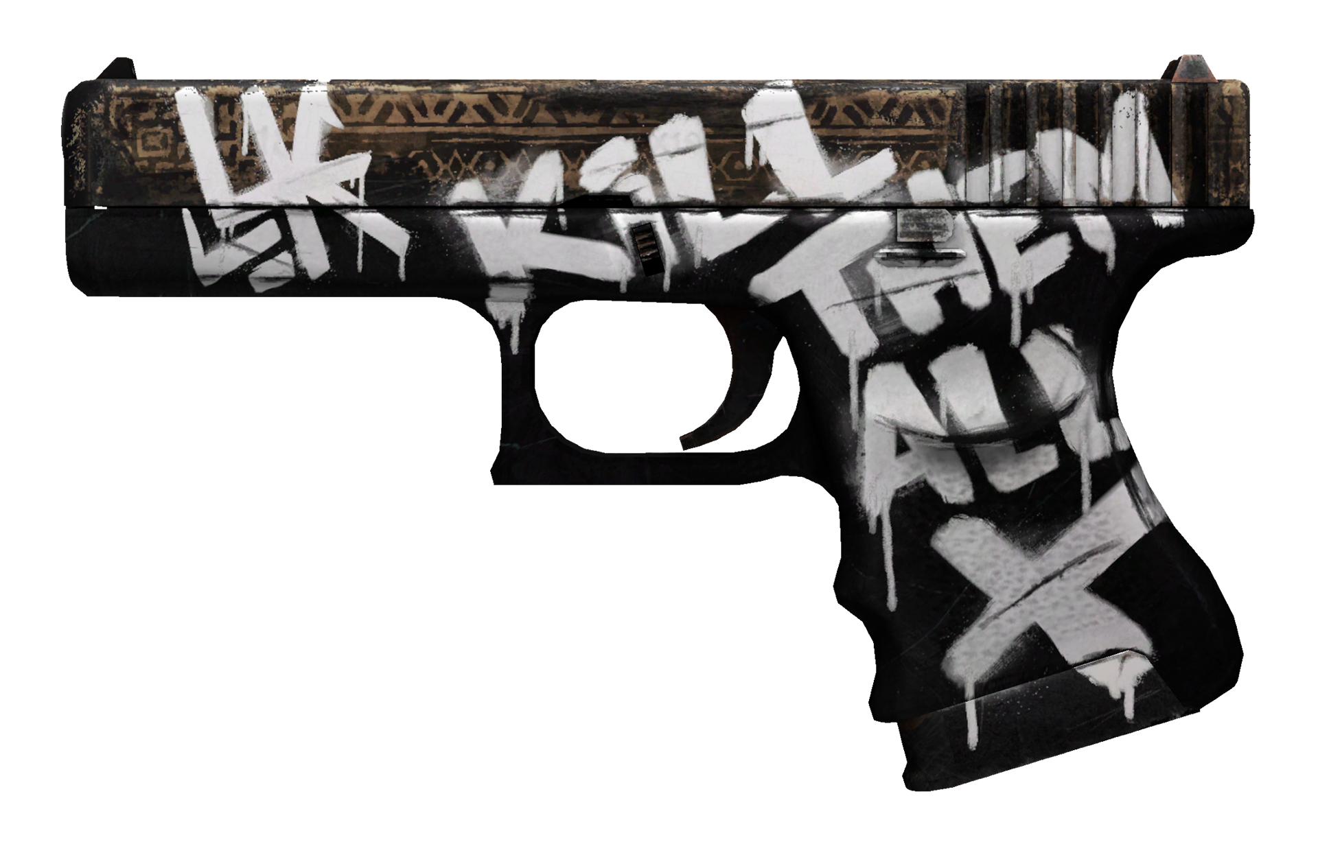 Glock-18 Wasteland Rebel Large Rendering