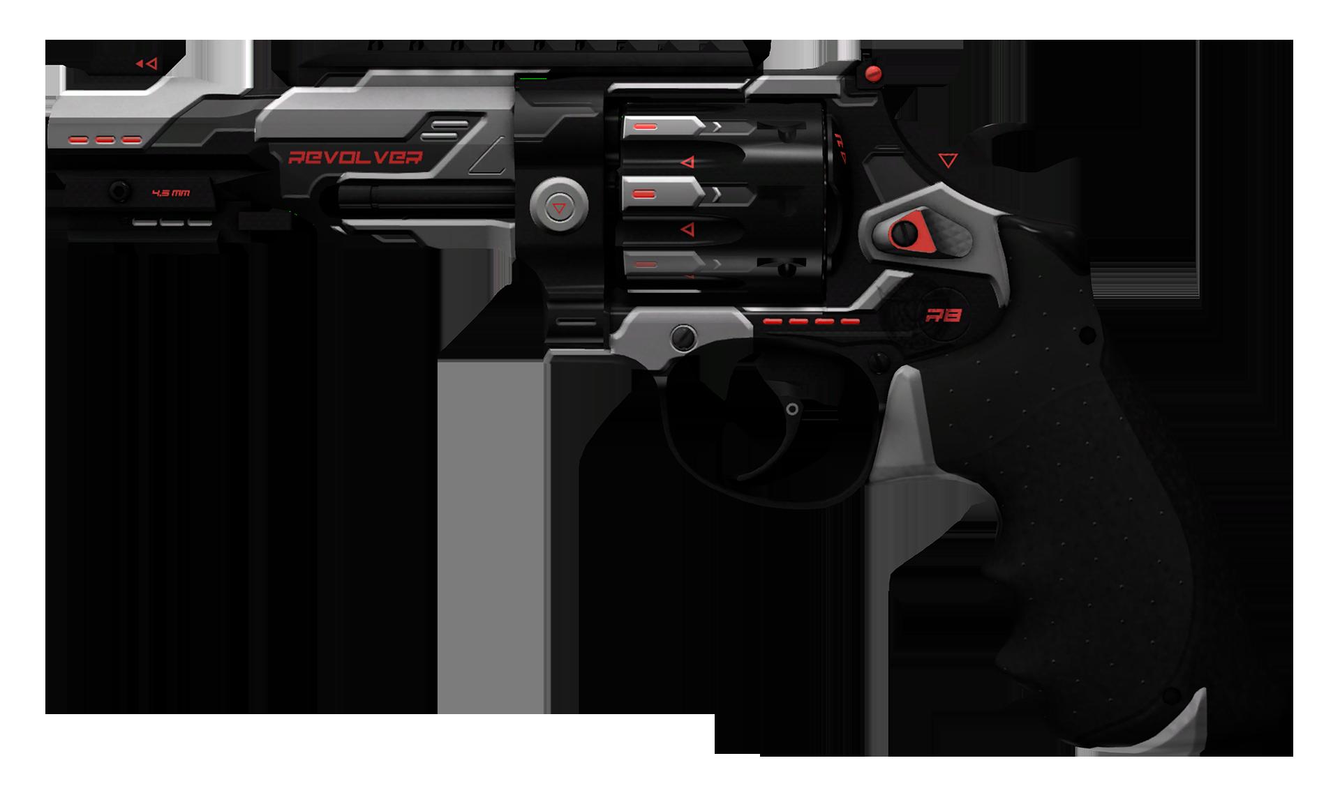 R8 Revolver Reboot Large Rendering
