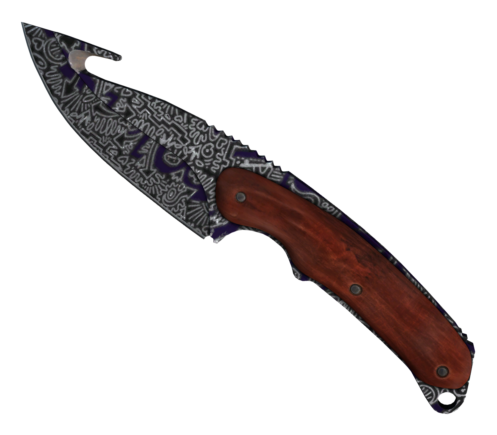 Gut Knife Freehand Large Rendering