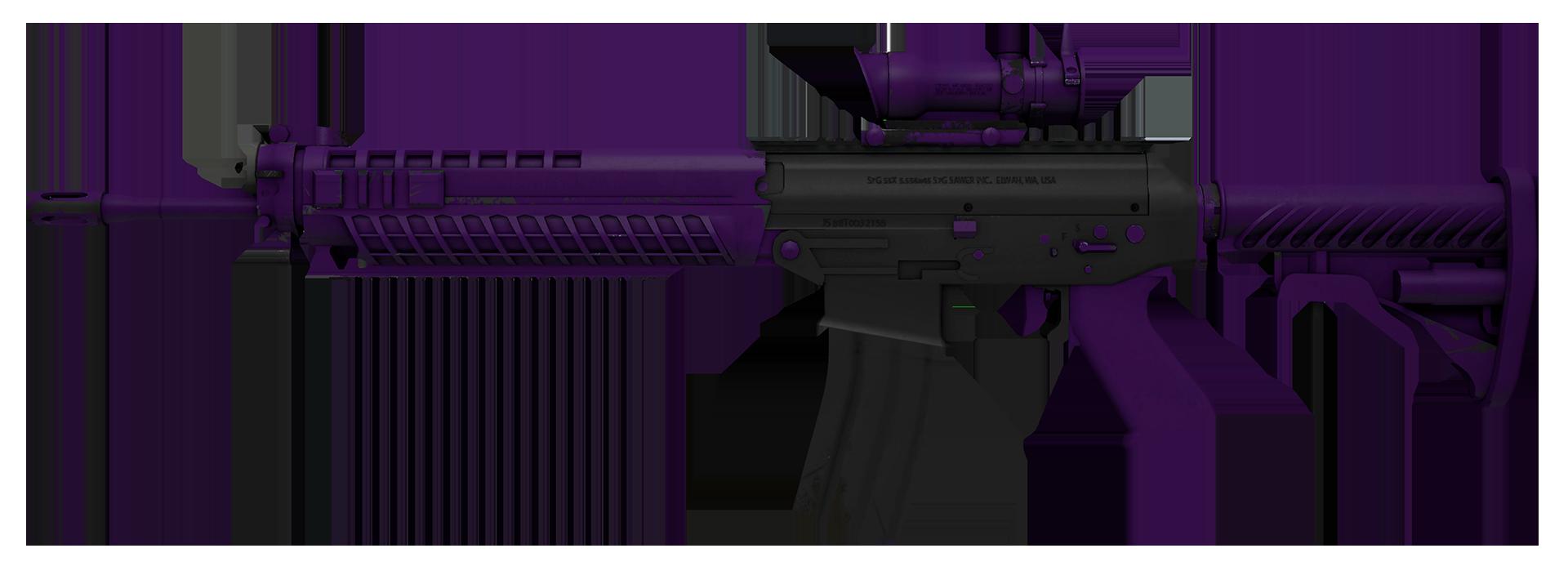 SG 553 Ultraviolet Large Rendering
