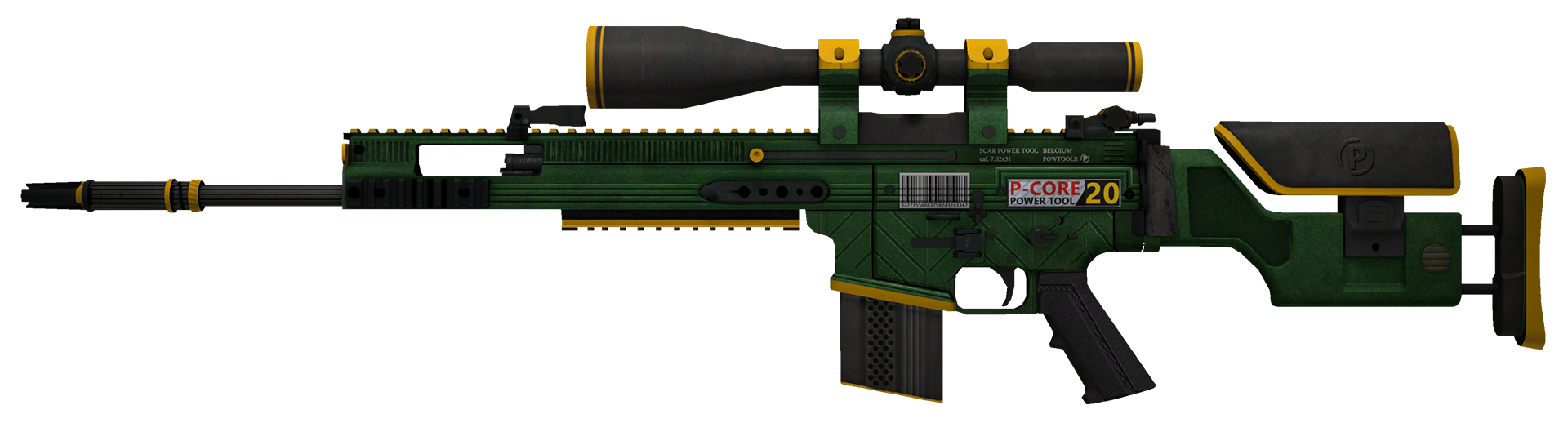 SCAR-20 Powercore Large Rendering