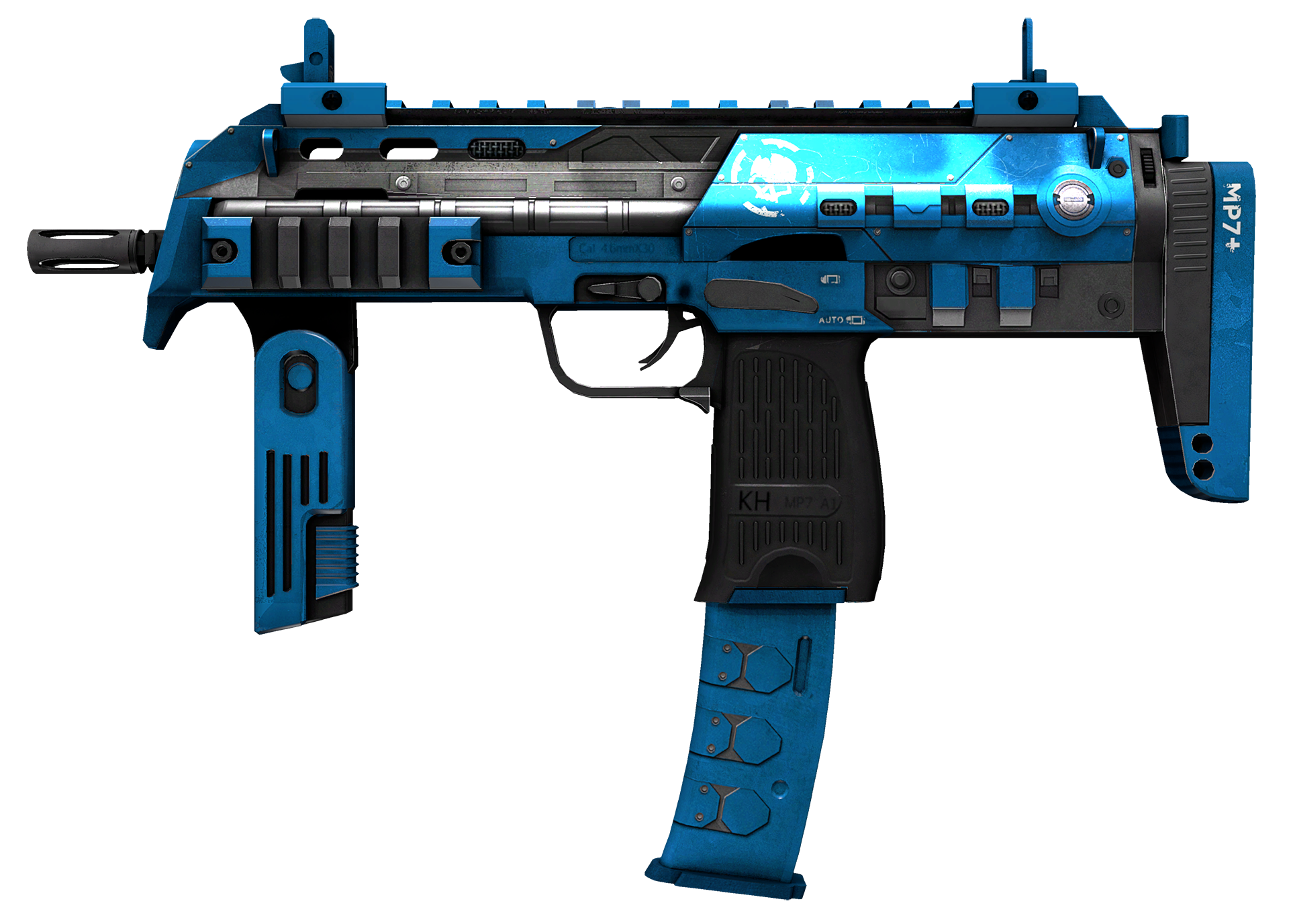 MP7 Cirrus Large Rendering