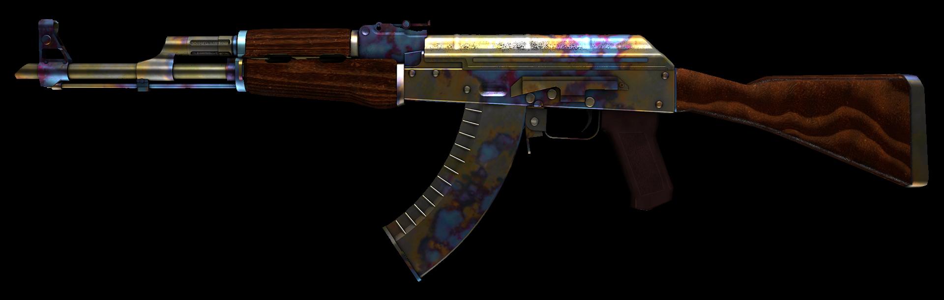 AK-47 Case Hardened Large Rendering