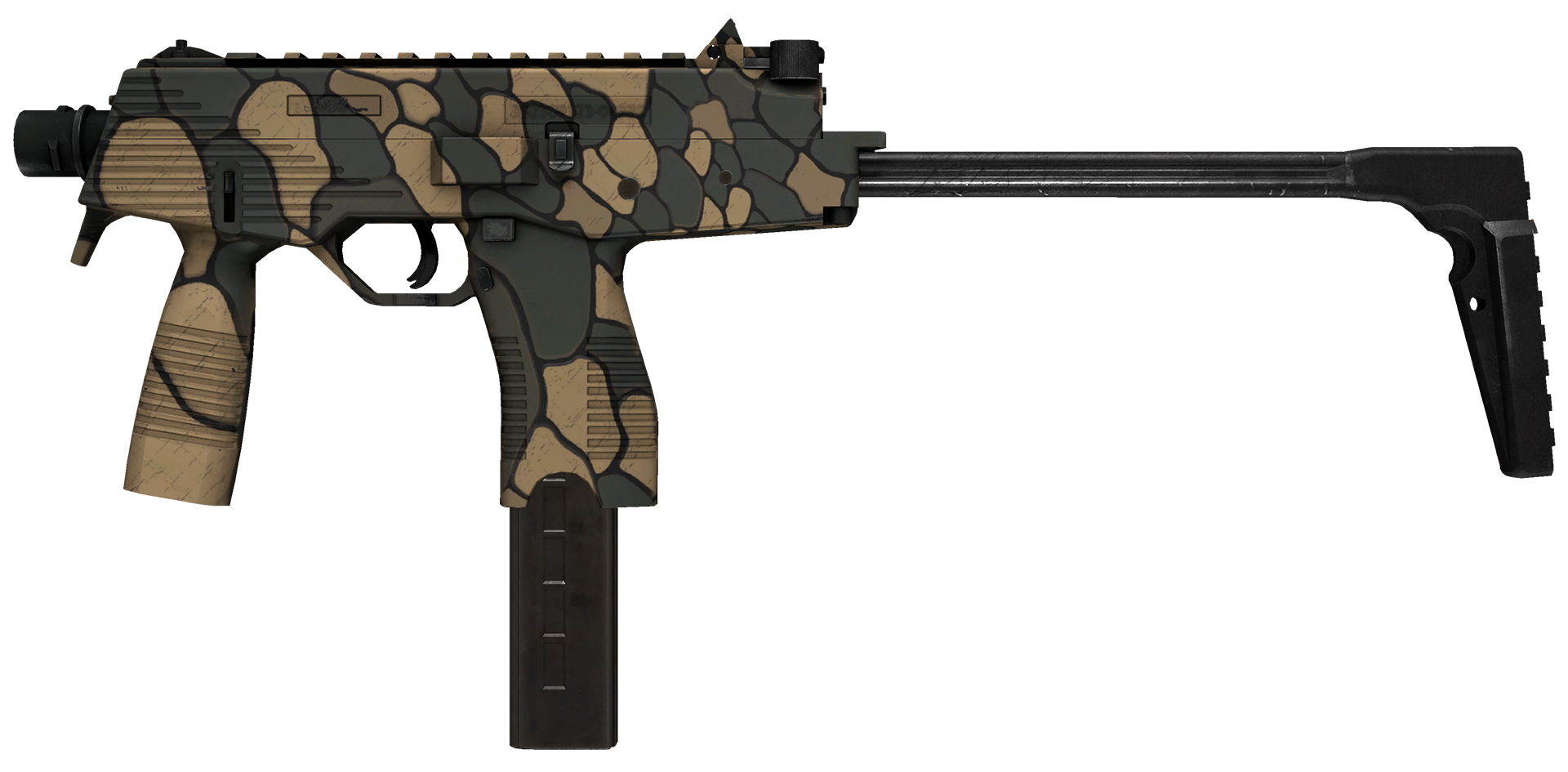 MP9 Sand Scale Large Rendering
