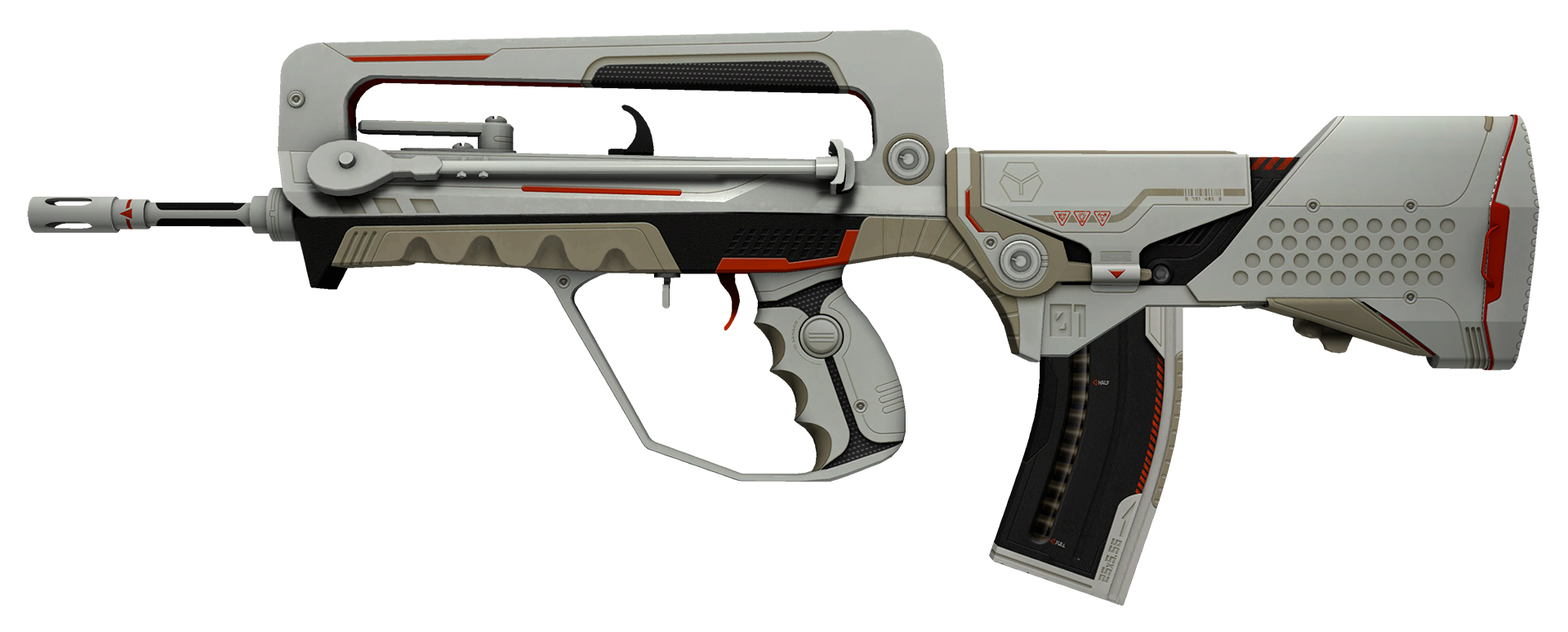 FAMAS Mecha Industries Large Rendering