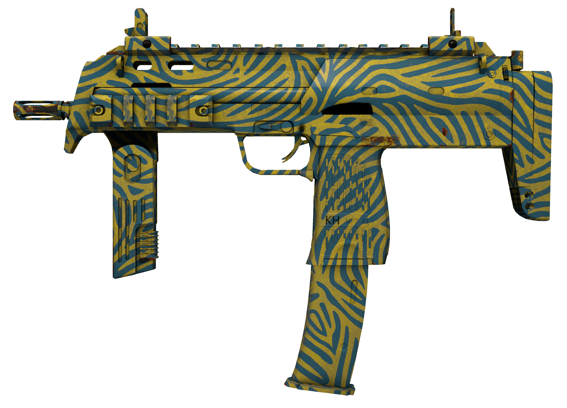 MP7 Akoben Large Rendering