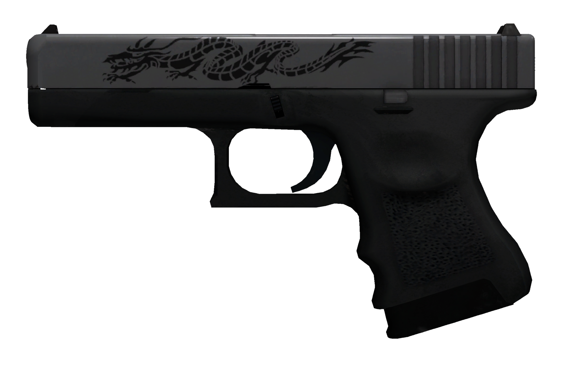 Glock-18 Dragon Tattoo Large Rendering