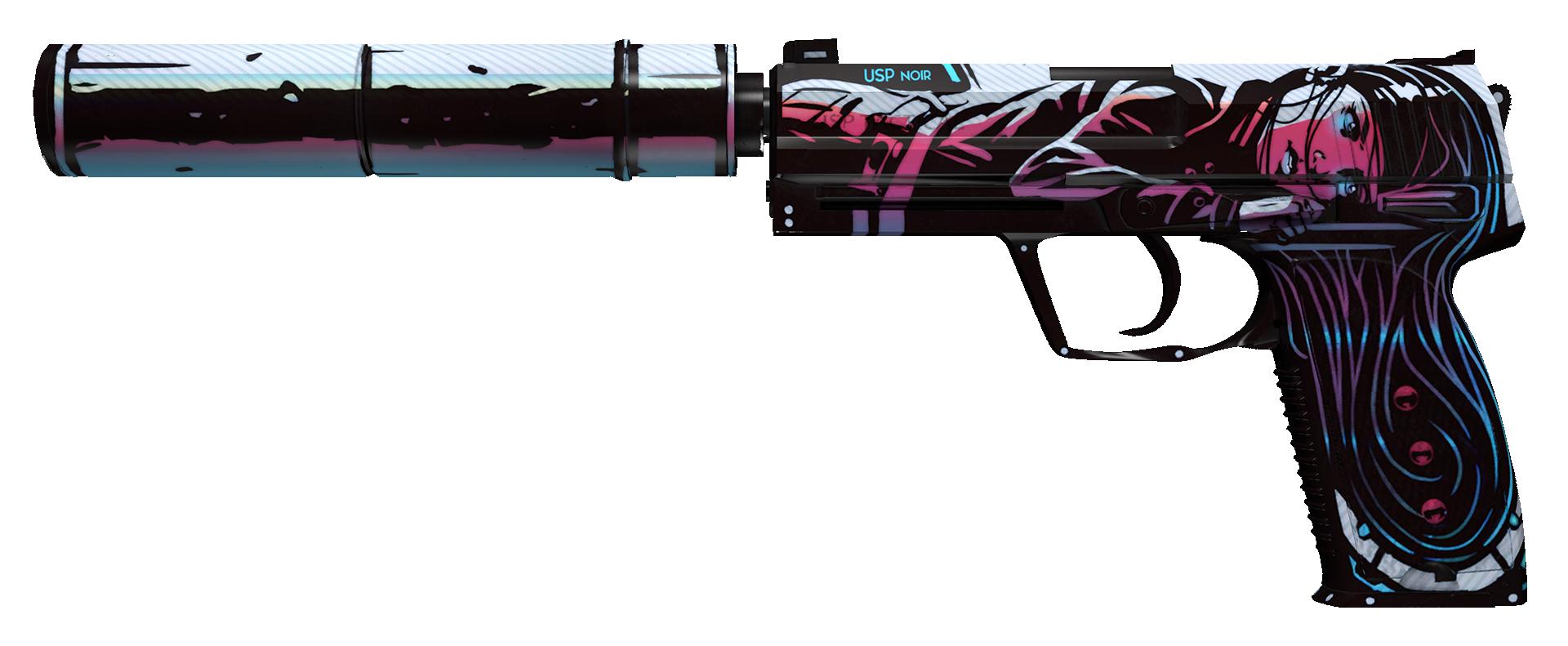 USP-S Neo-Noir Large Rendering