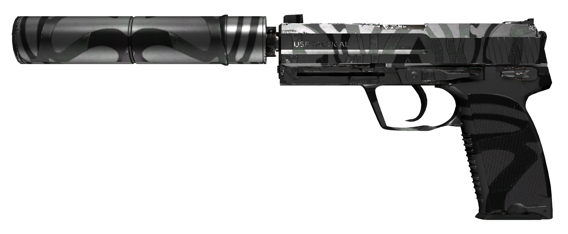 USP-S Dark Water Large Rendering