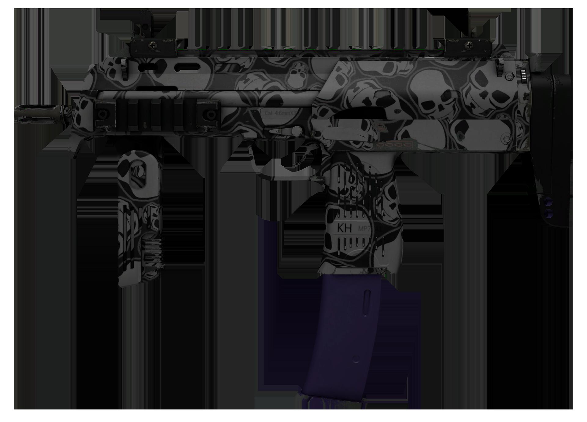 MP7 Skulls Large Rendering