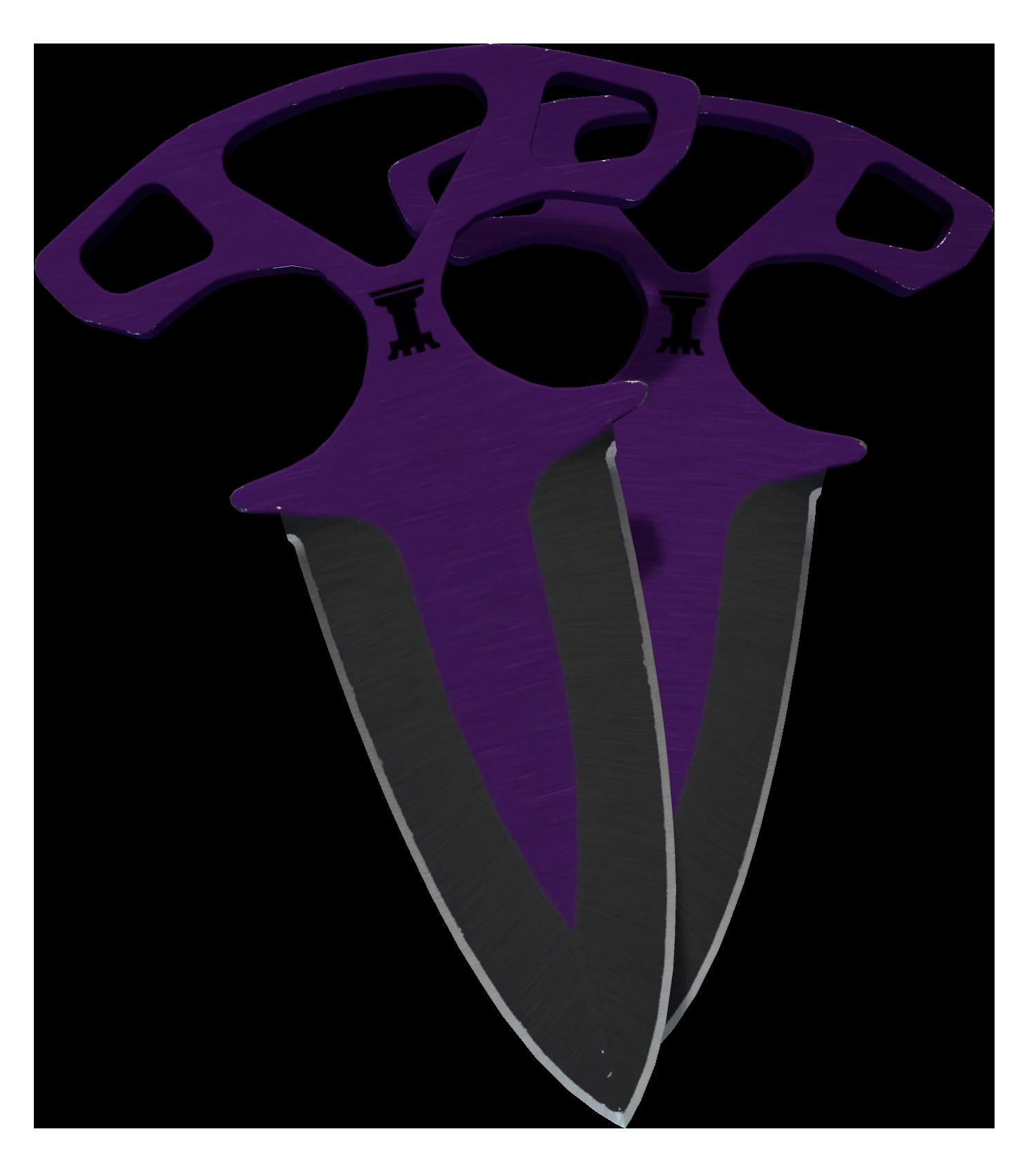 Shadow Daggers Ultraviolet Large Rendering