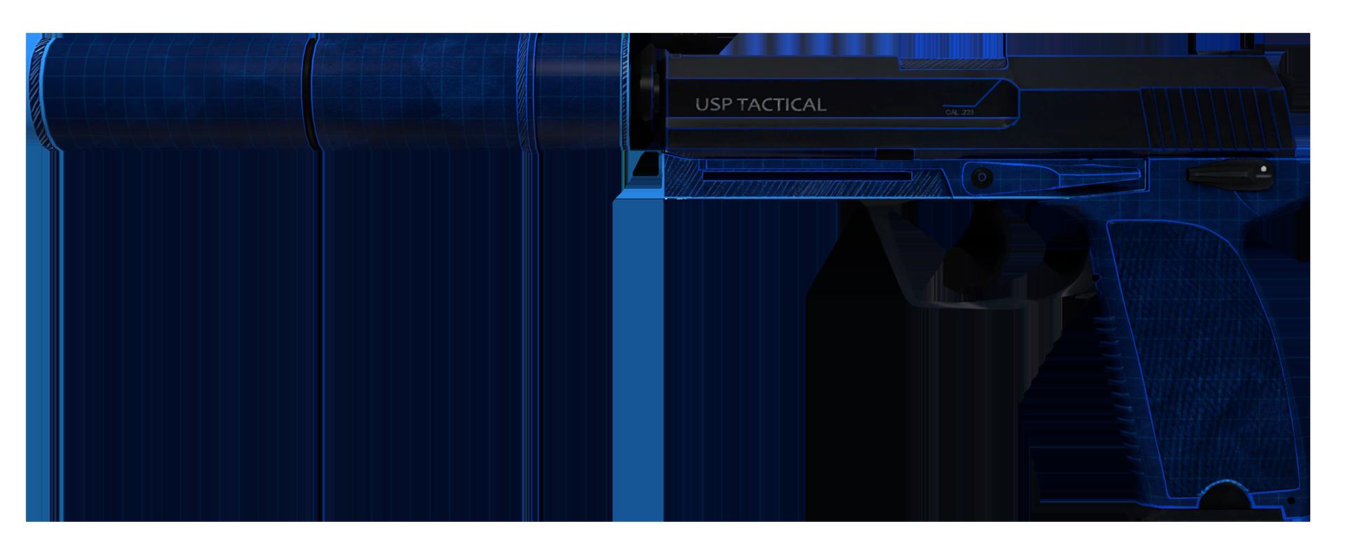 USP-S Blueprint Large Rendering