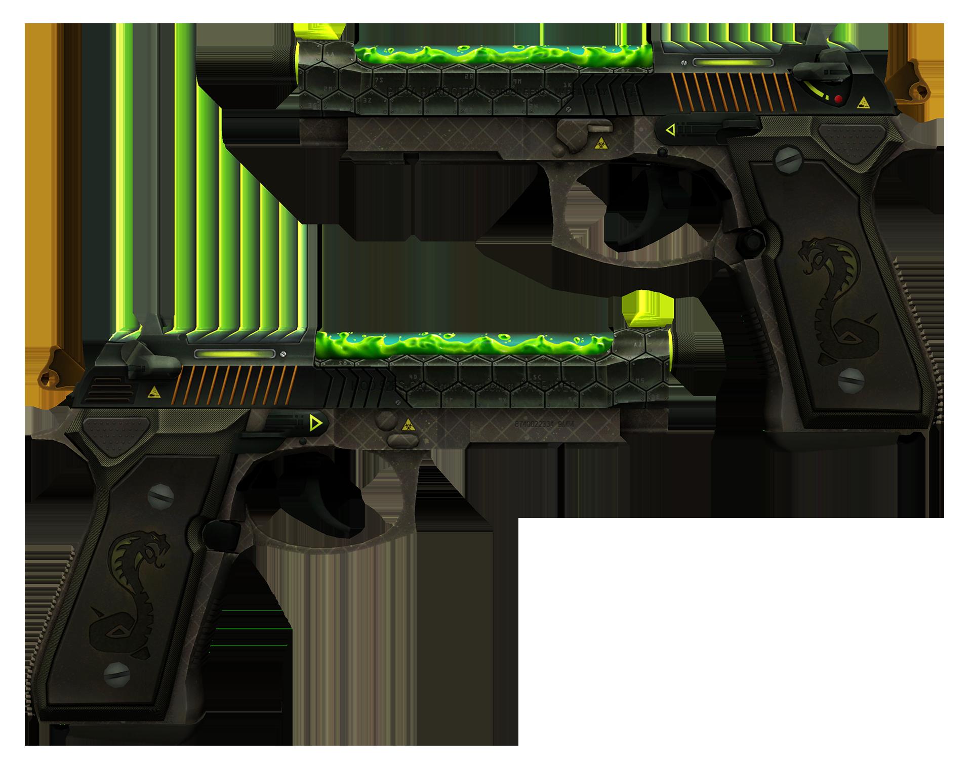 Dual Berettas Cobra Strike Large Rendering