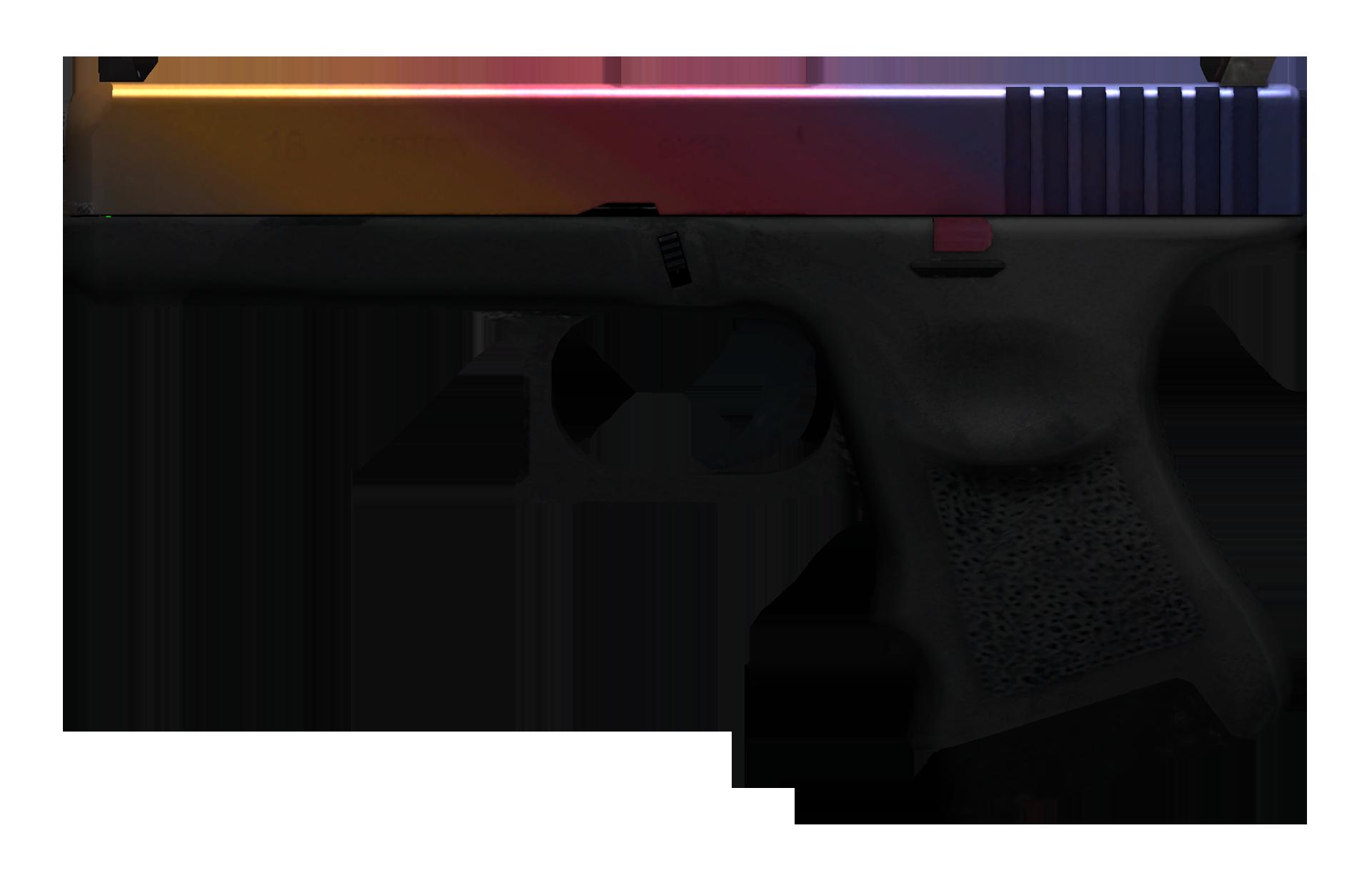 Glock-18 Fade Large Rendering