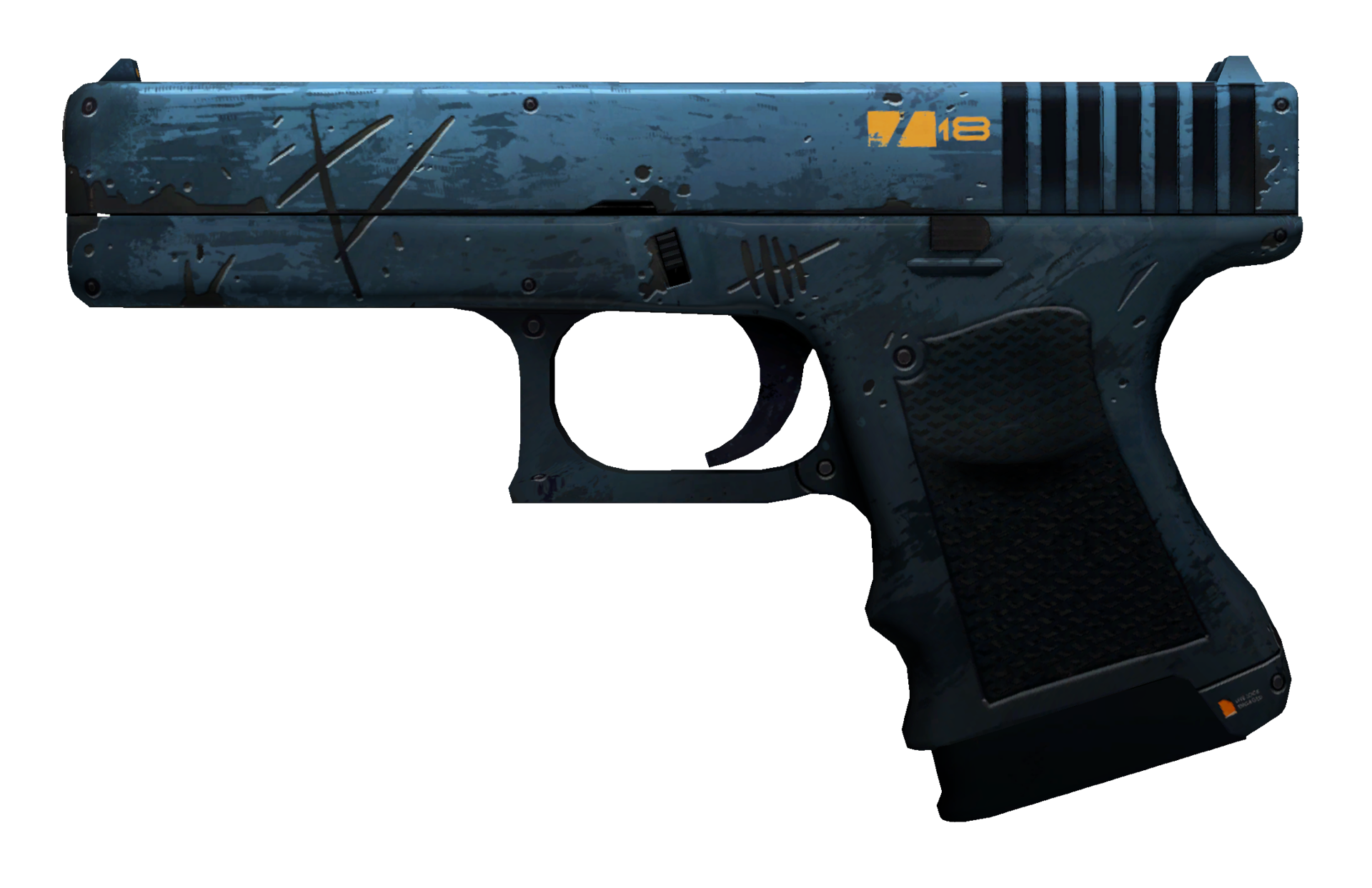 Glock-18 Off World Large Rendering