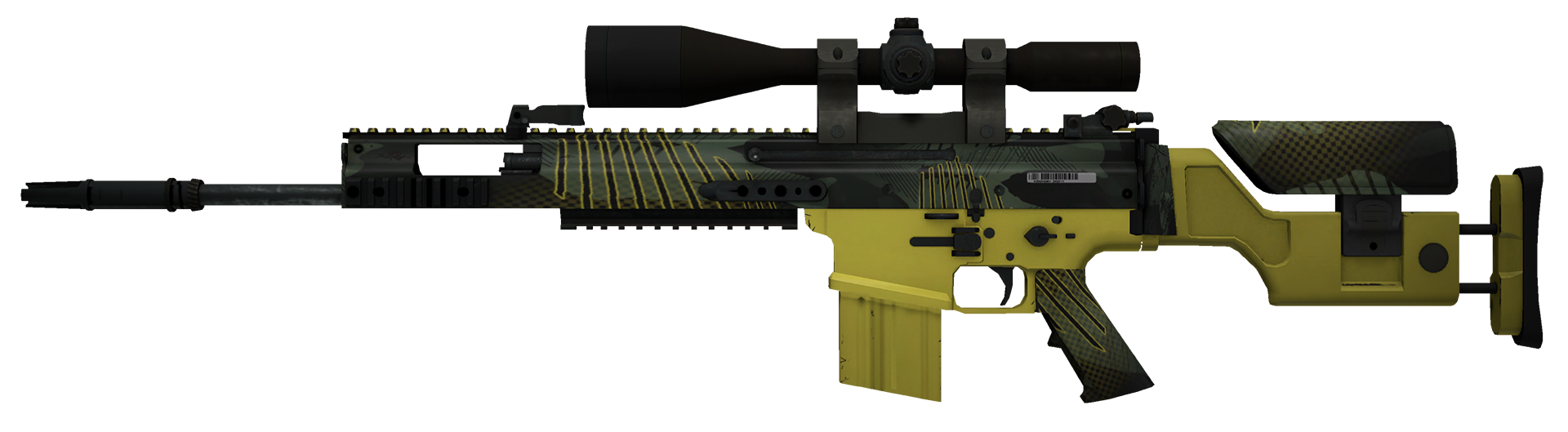 SCAR-20 Jungle Slipstream Large Rendering