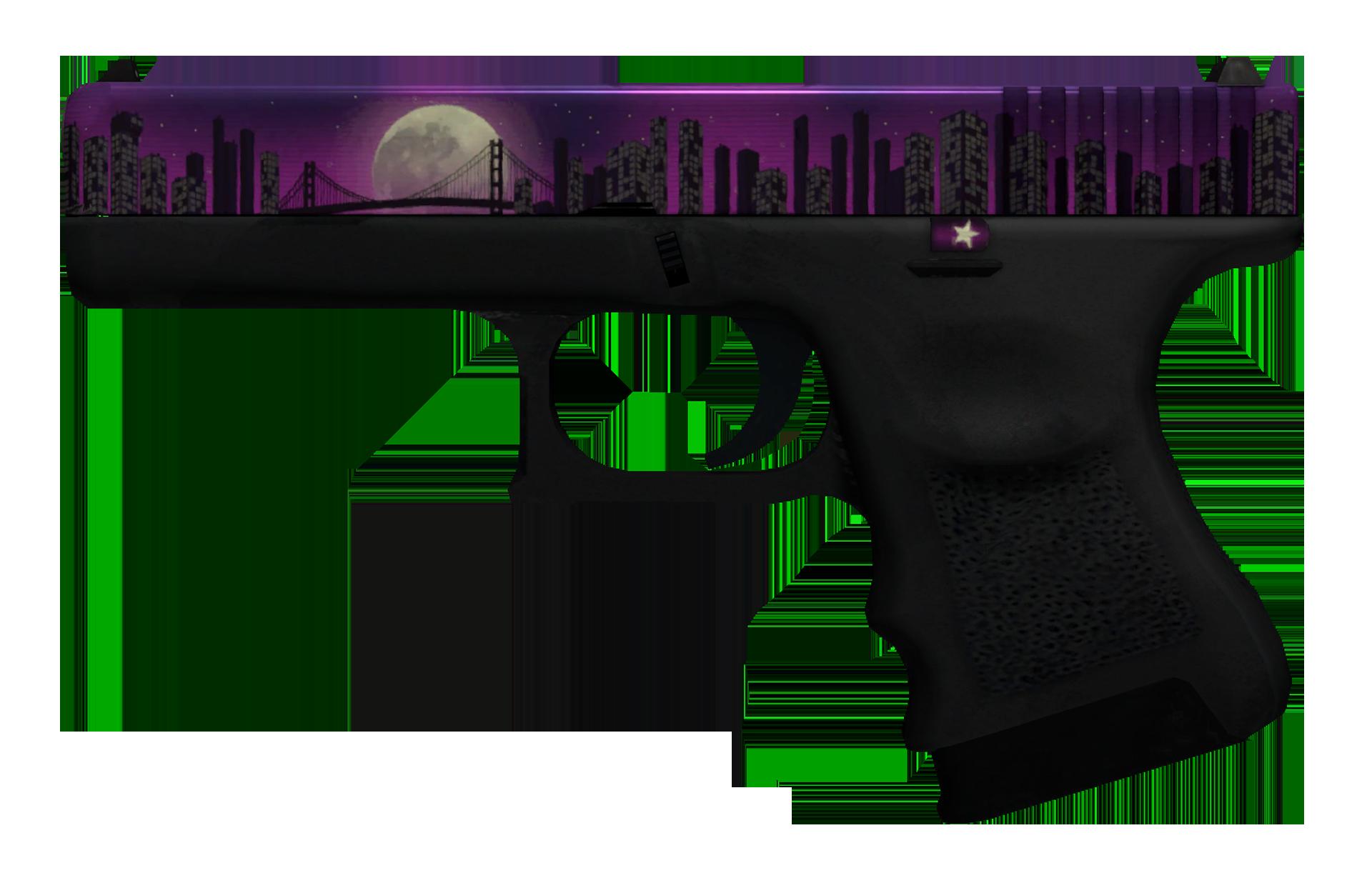 Glock-18 Moonrise Large Rendering
