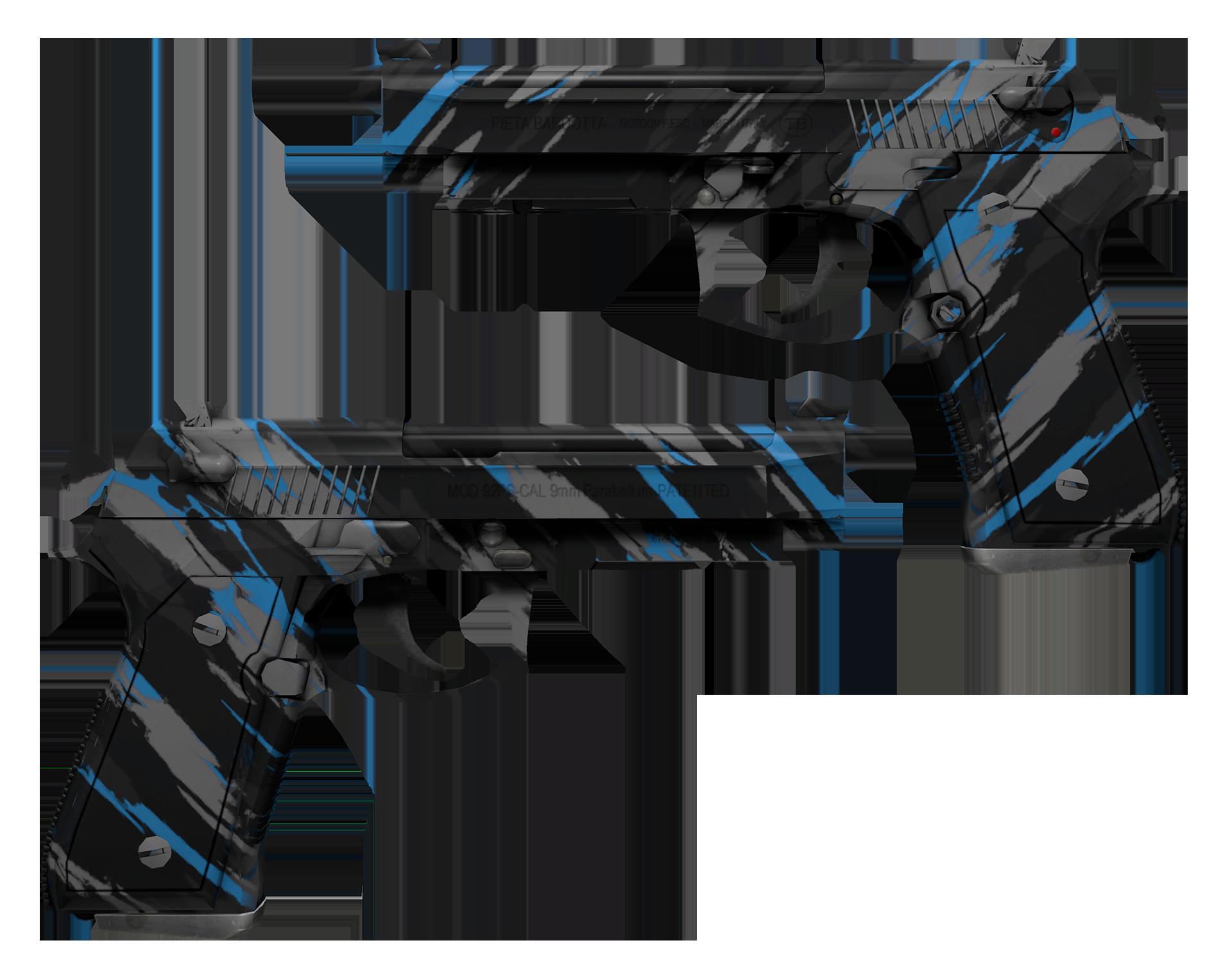 Dual Berettas Shred Large Rendering